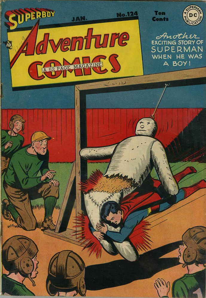 Read online Adventure Comics (1938) comic -  Issue #124 - 2