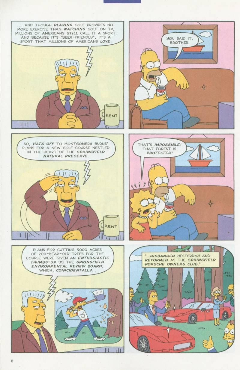 Read online Simpsons Comics comic -  Issue #63 - 9