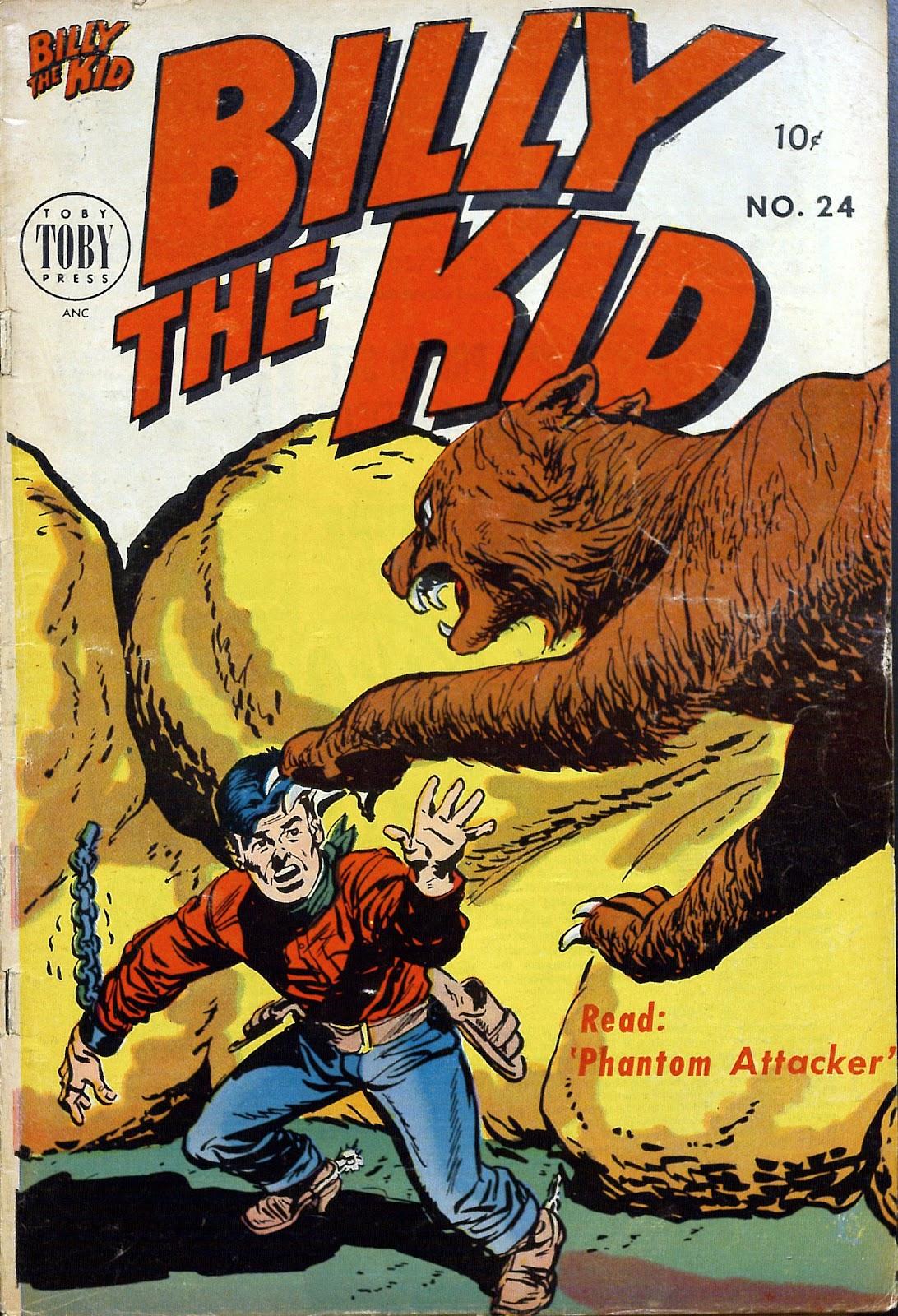 Billy the Kid Adventure Magazine 24 Page 1