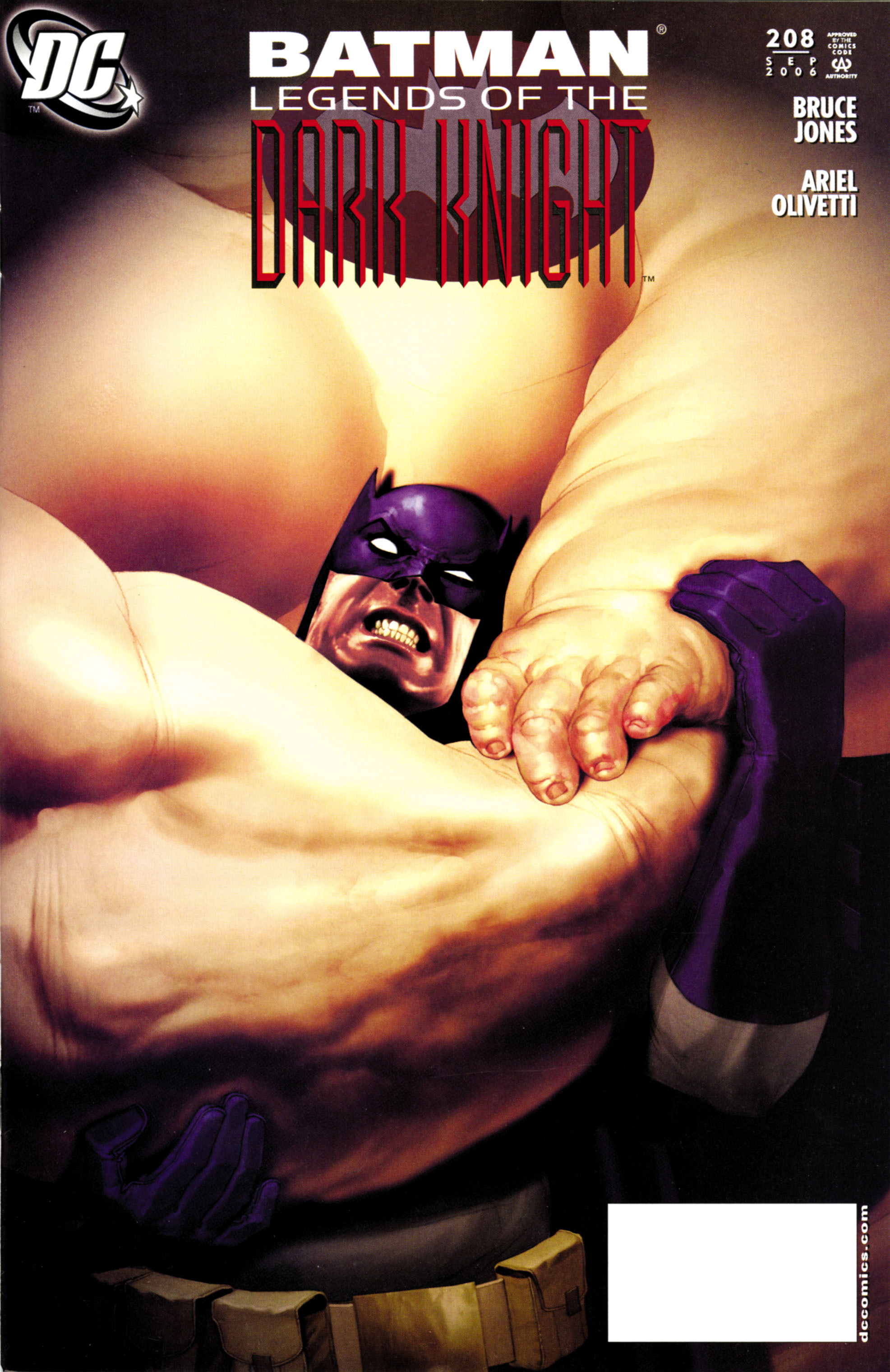Batman: Legends of the Dark Knight 208 Page 1