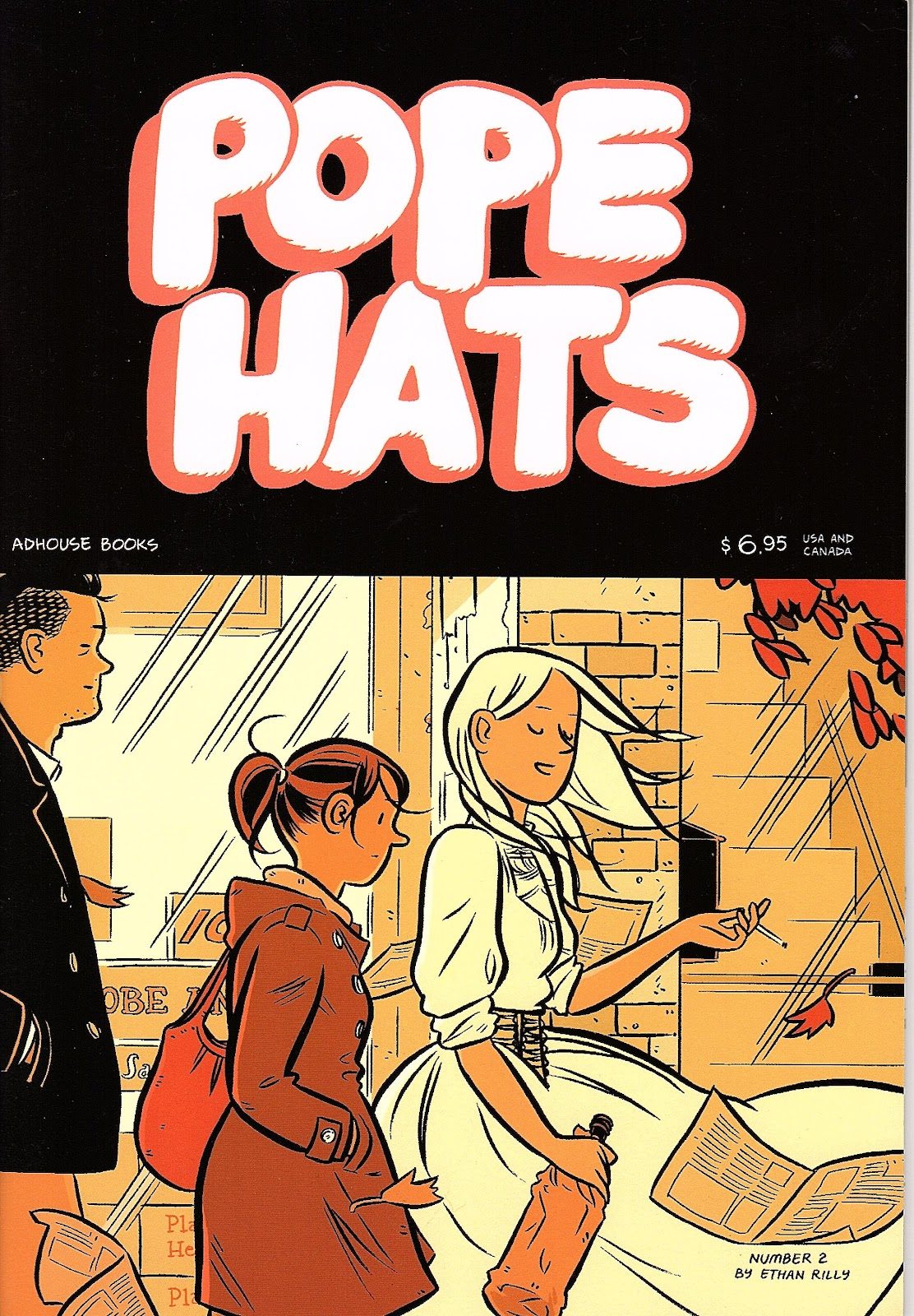 Read online Pope Hats comic -  Issue #2 - 1