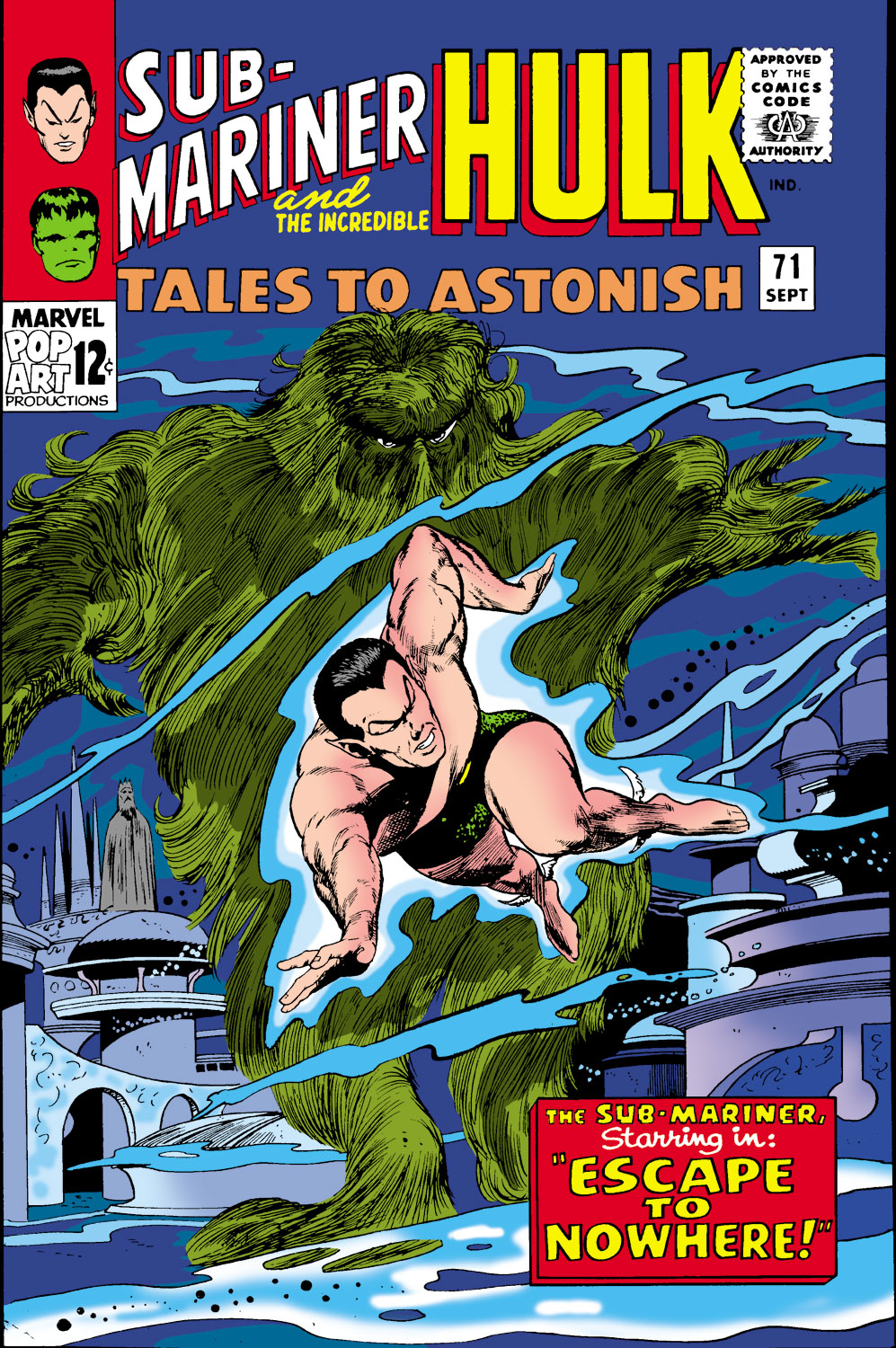 Tales to Astonish (1959) issue 71 - Page 1