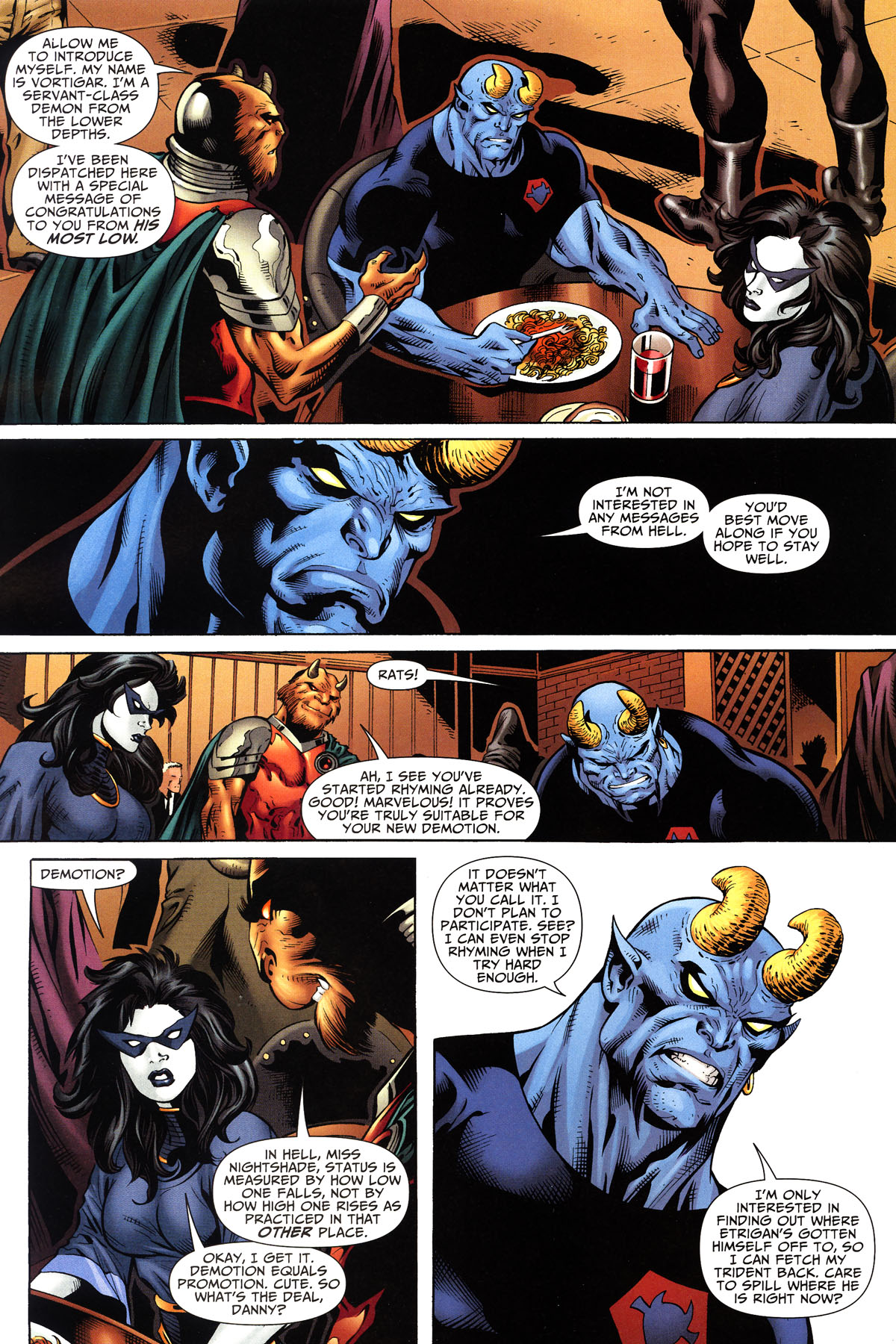 Read online Shadowpact comic -  Issue #10 - 10