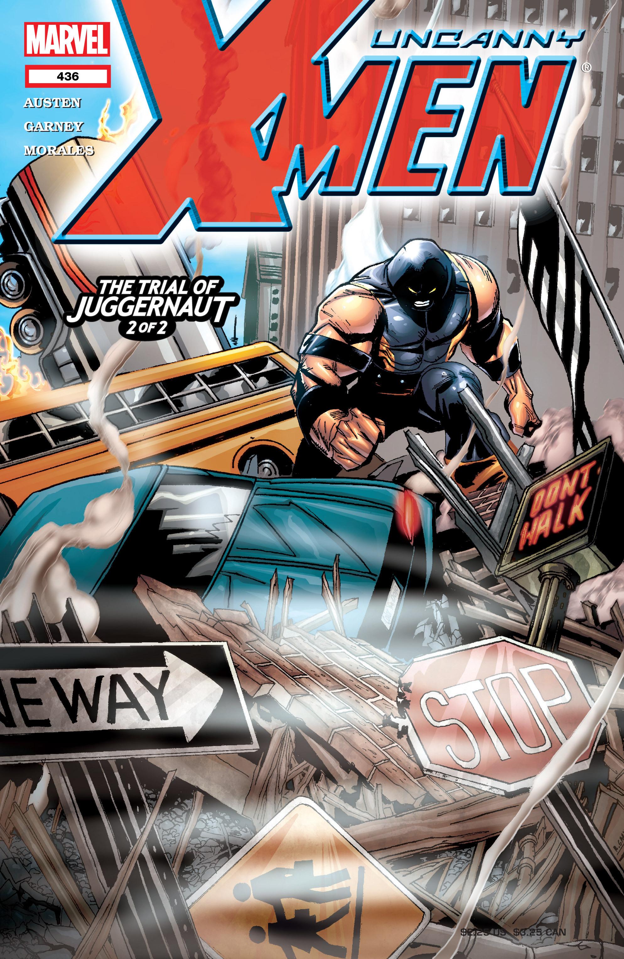 Read online Uncanny X-Men (1963) comic -  Issue #436 - 1