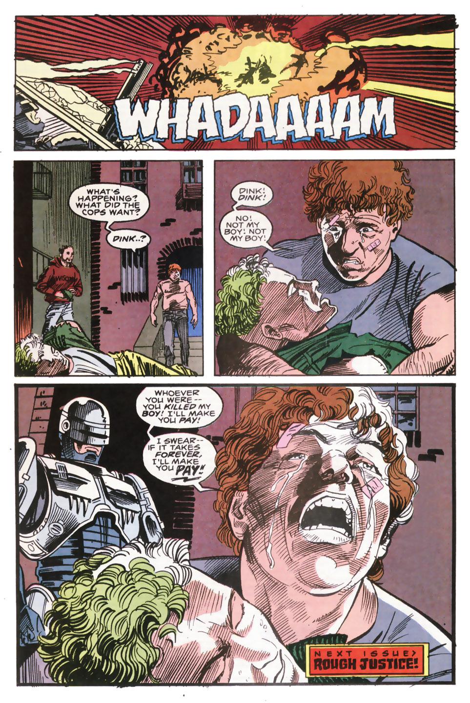 Read online Robocop (1990) comic -  Issue #9 - 23