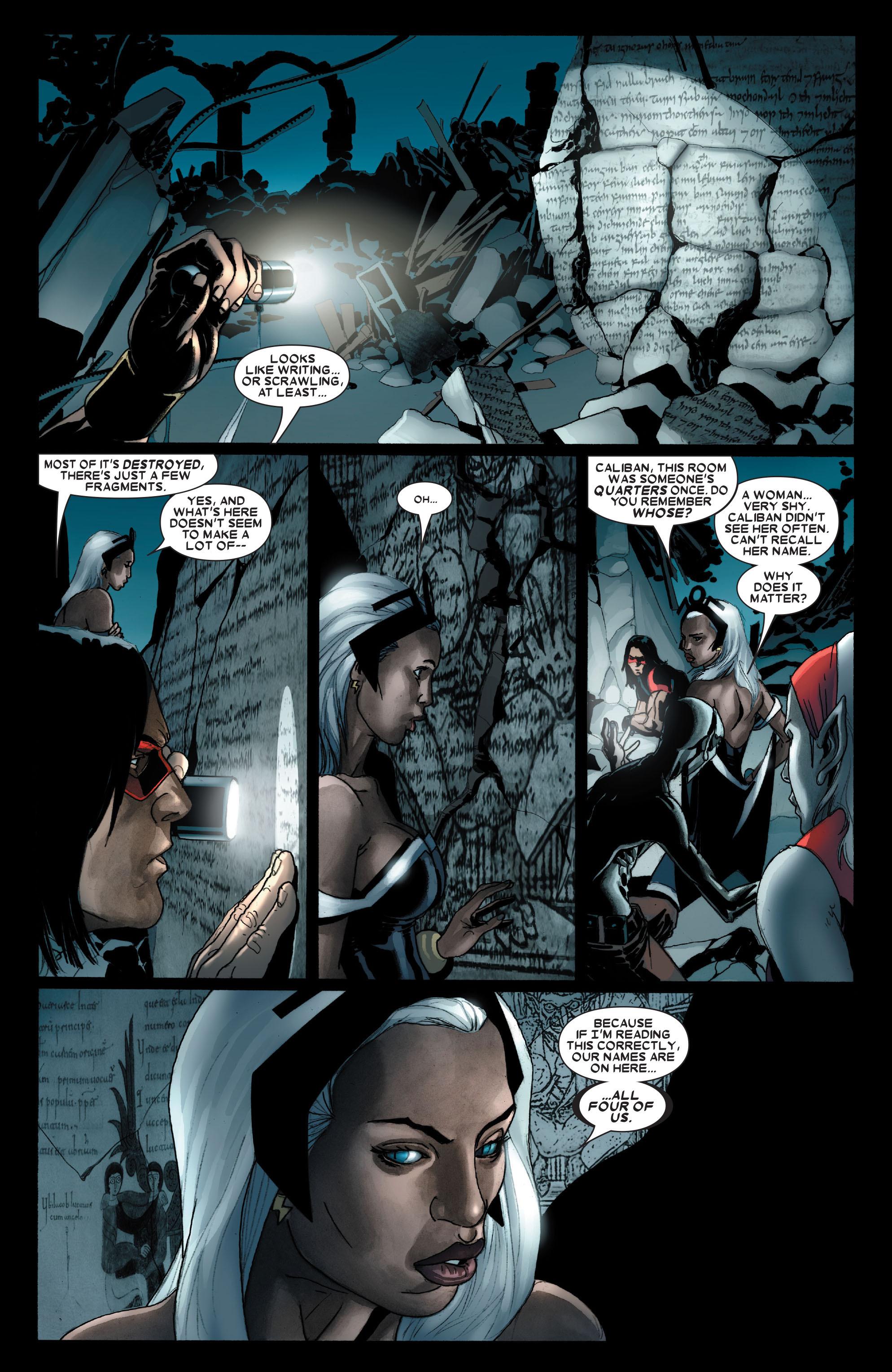 Read online Uncanny X-Men (1963) comic -  Issue #488 - 14