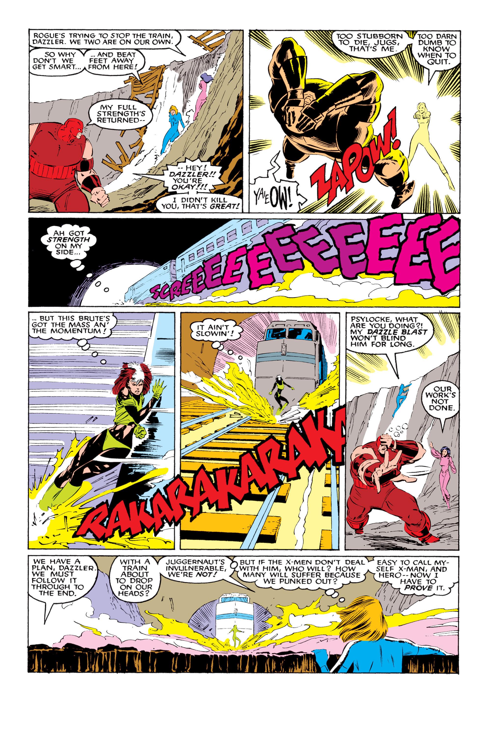 Read online Uncanny X-Men (1963) comic -  Issue #218 - 20