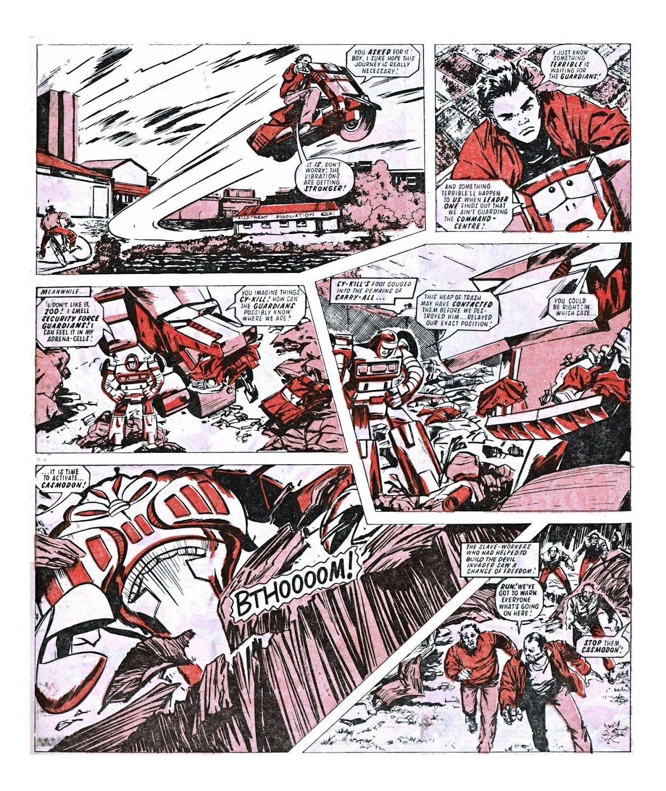 Read online Robo Machines comic -  Issue # TPB - 92