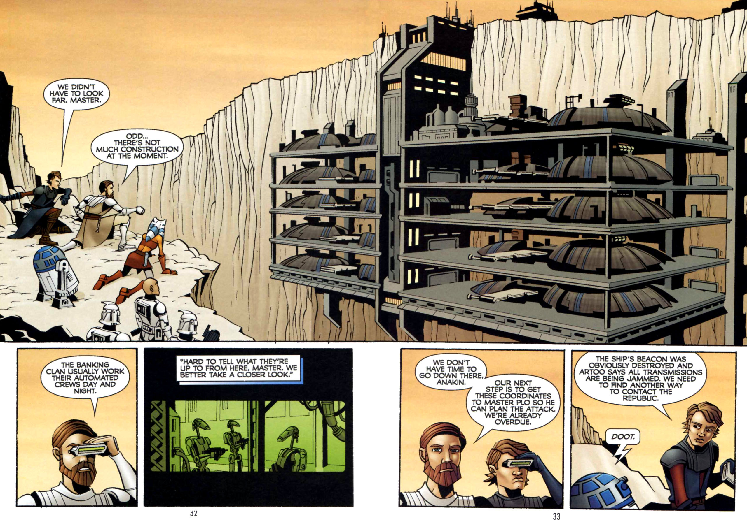Read online Star Wars: The Clone Wars - Shipyards of Doom comic -  Issue # Full - 31