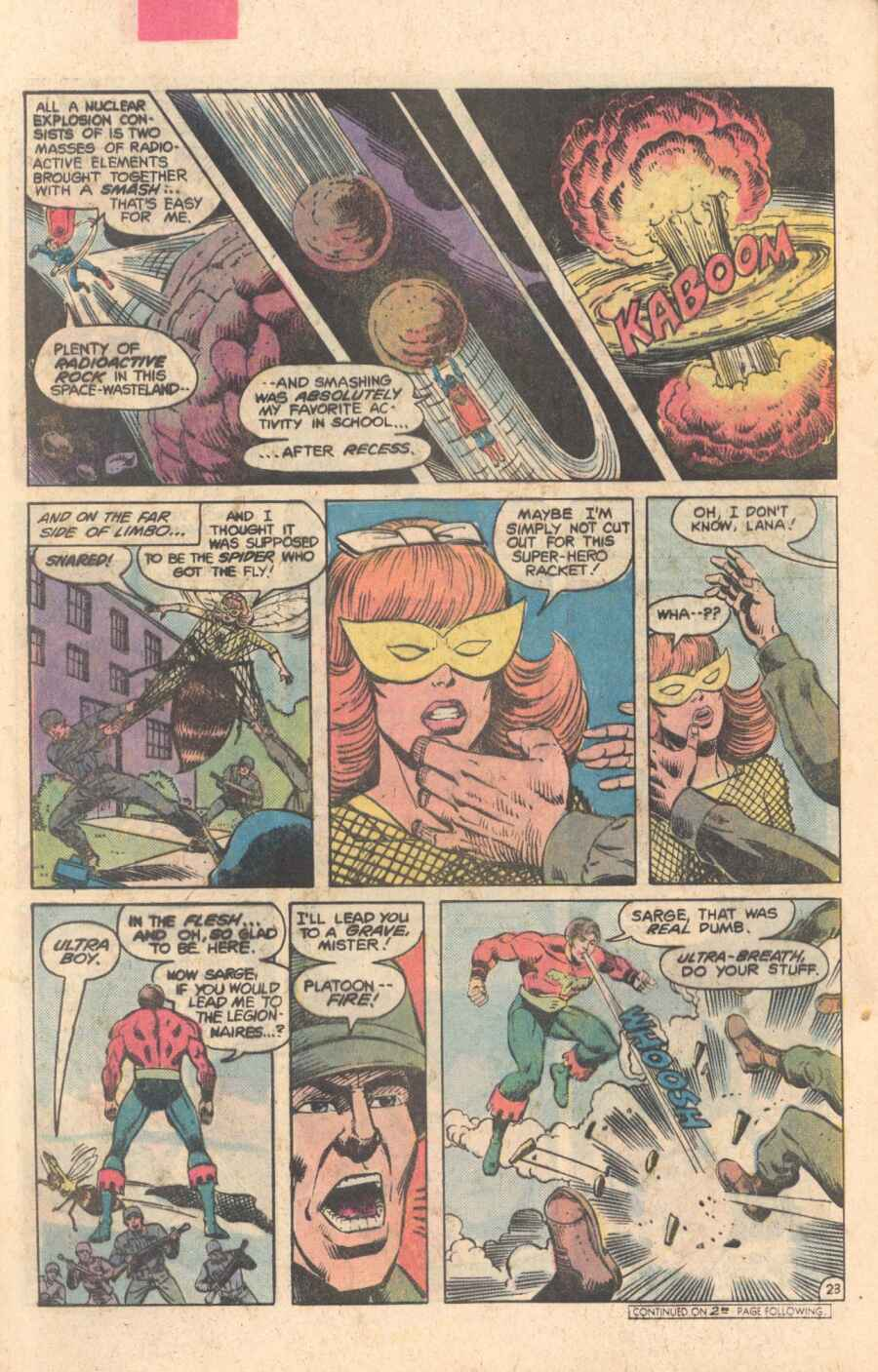 Legion of Super-Heroes (1980) 282 Page 23