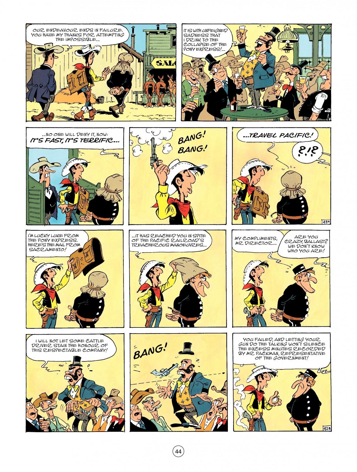 Read online A Lucky Luke Adventure comic -  Issue #46 - 44