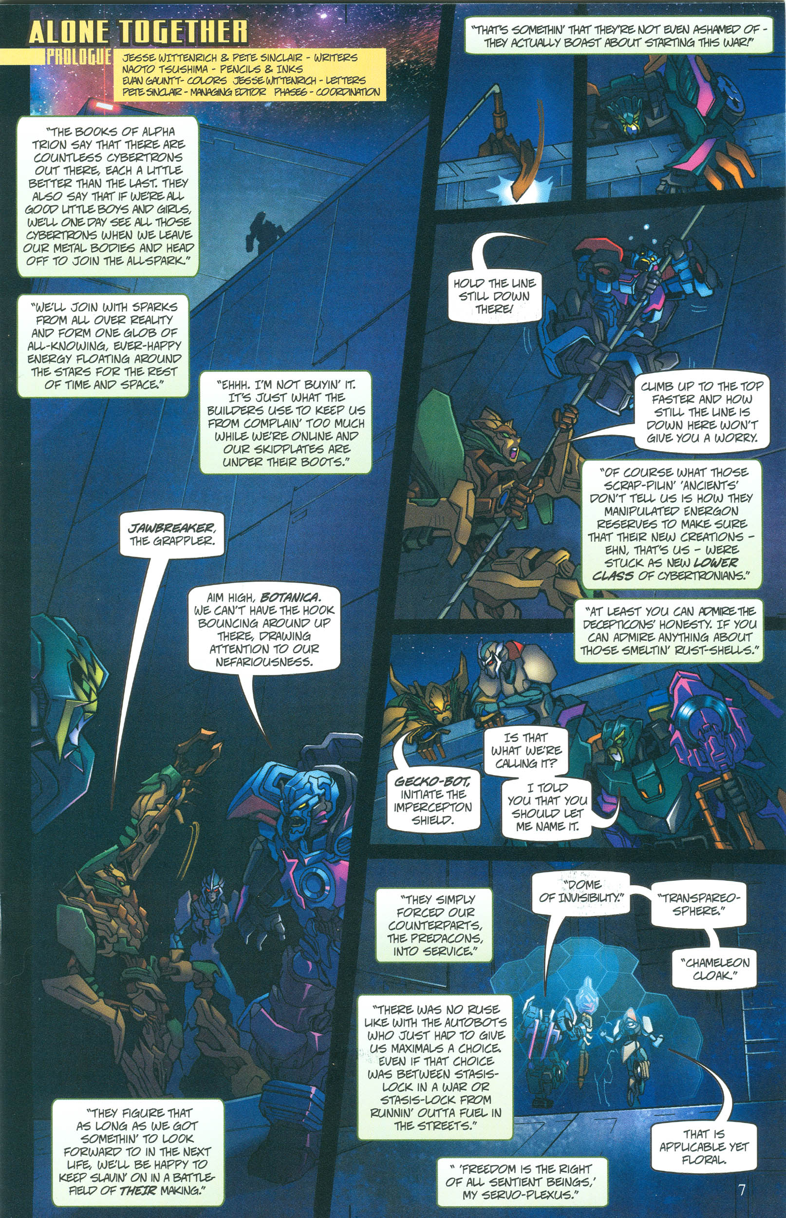 Read online Transformers: Collectors' Club comic -  Issue #55 - 7