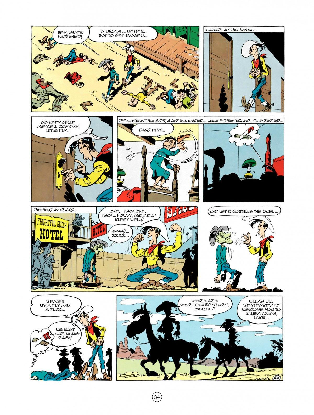 Read online A Lucky Luke Adventure comic -  Issue #28 - 35