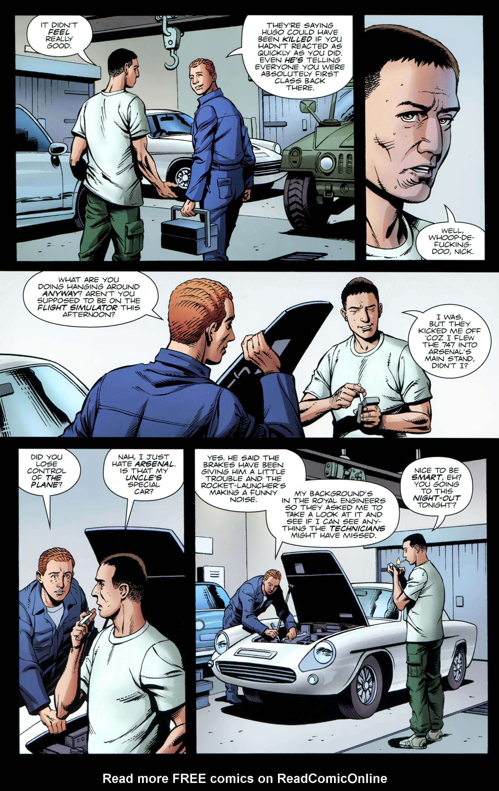 Read online Secret Service comic -  Issue #3 - 18