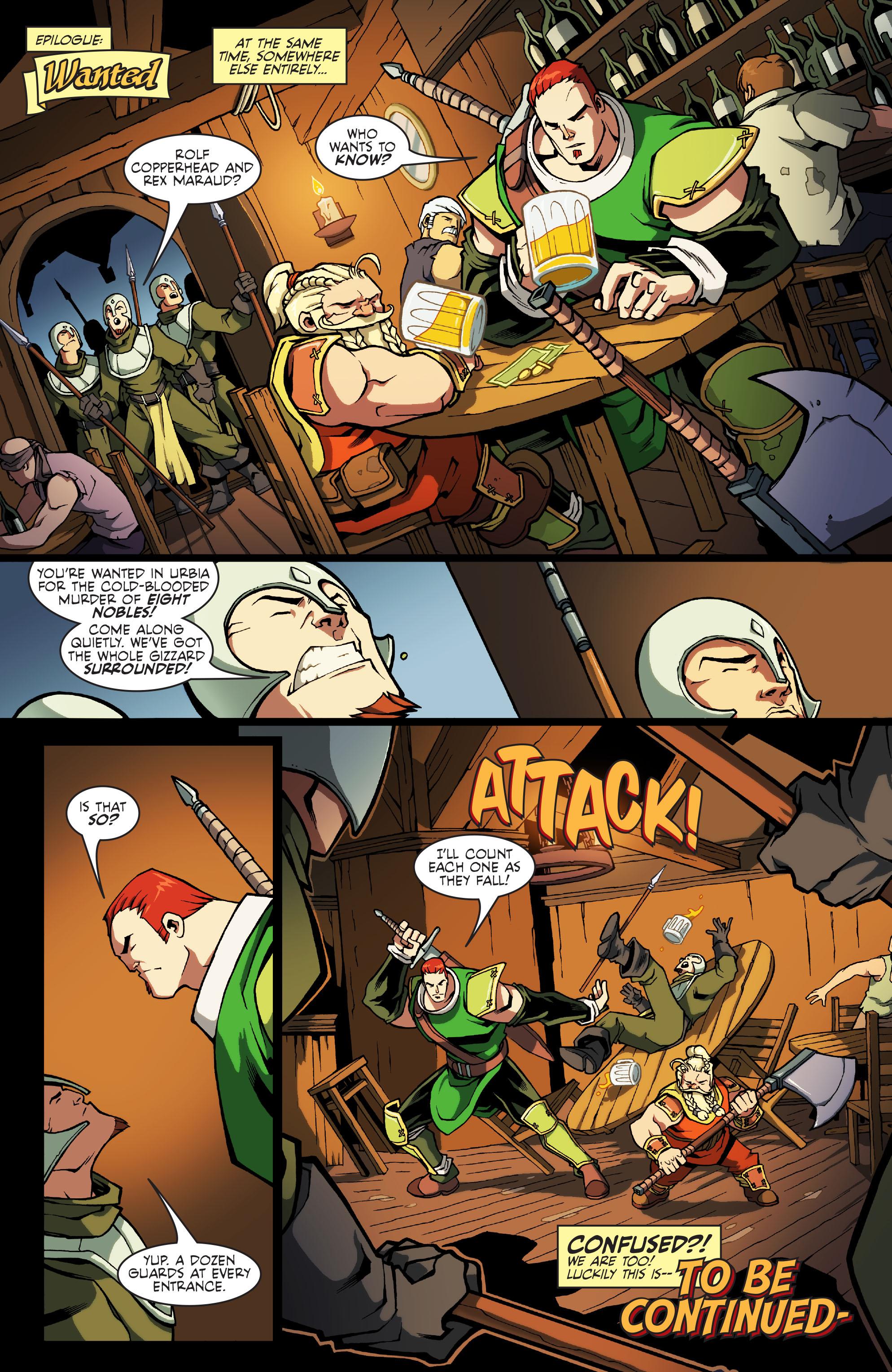 Read online Skullkickers comic -  Issue #11 - 22