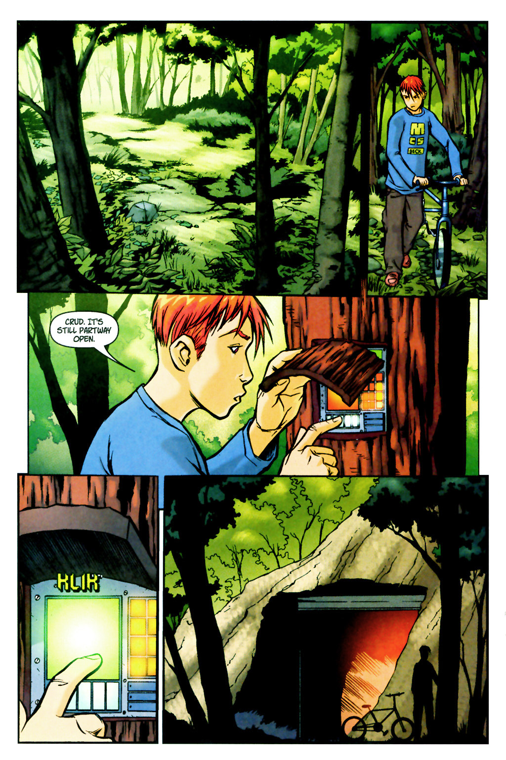Read online SpyBoy: Final Exam comic -  Issue #2 - 14