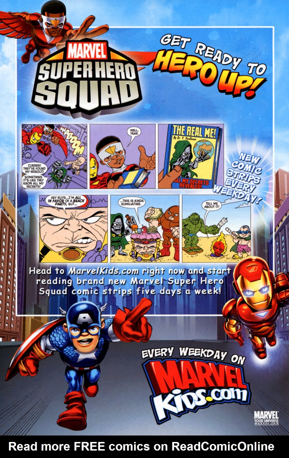 Read online Marvel Super Hero Squad: Hero Up! comic -  Issue # Full - 38