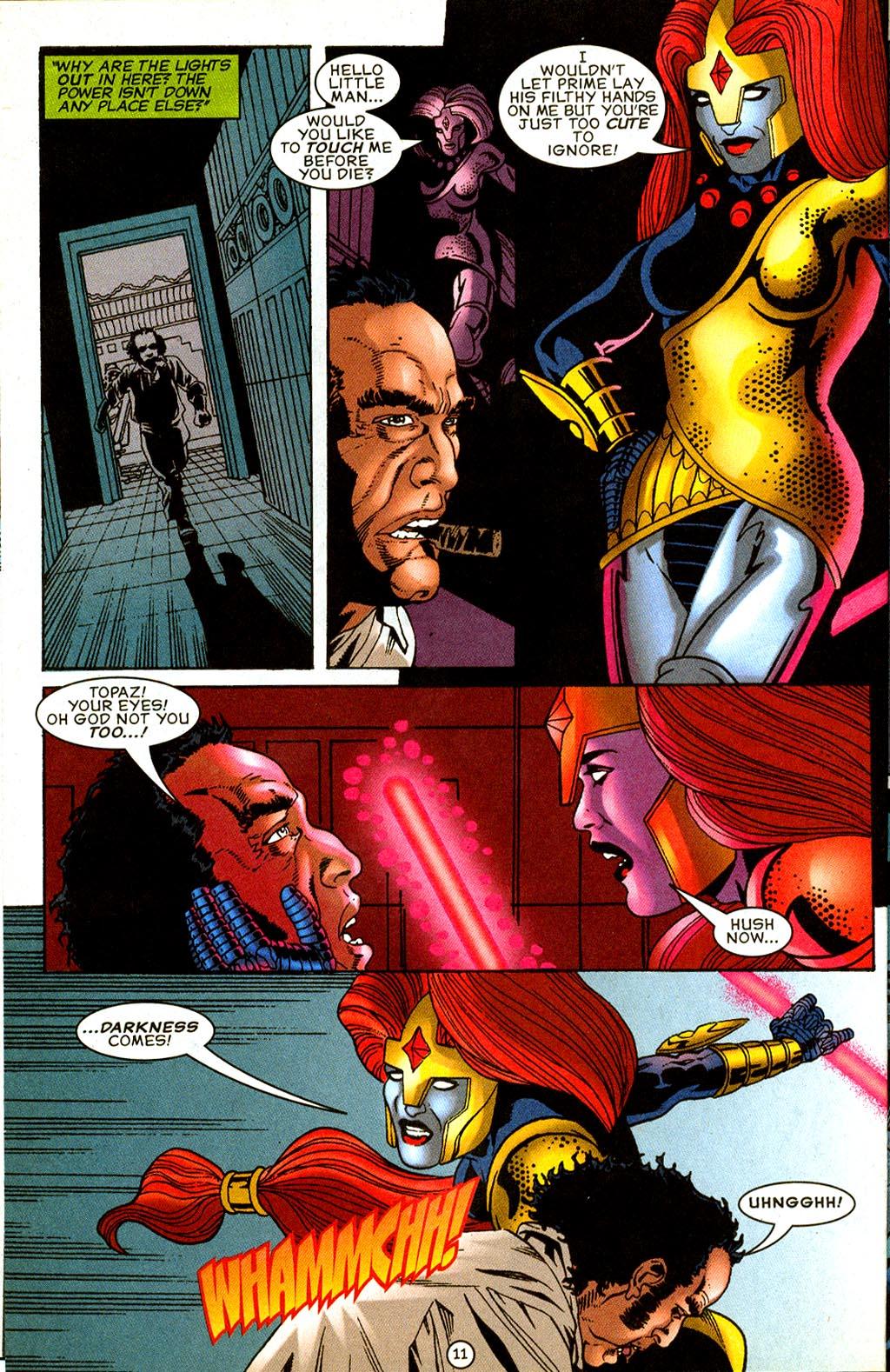 Read online UltraForce (1995) comic -  Issue #8 - 12
