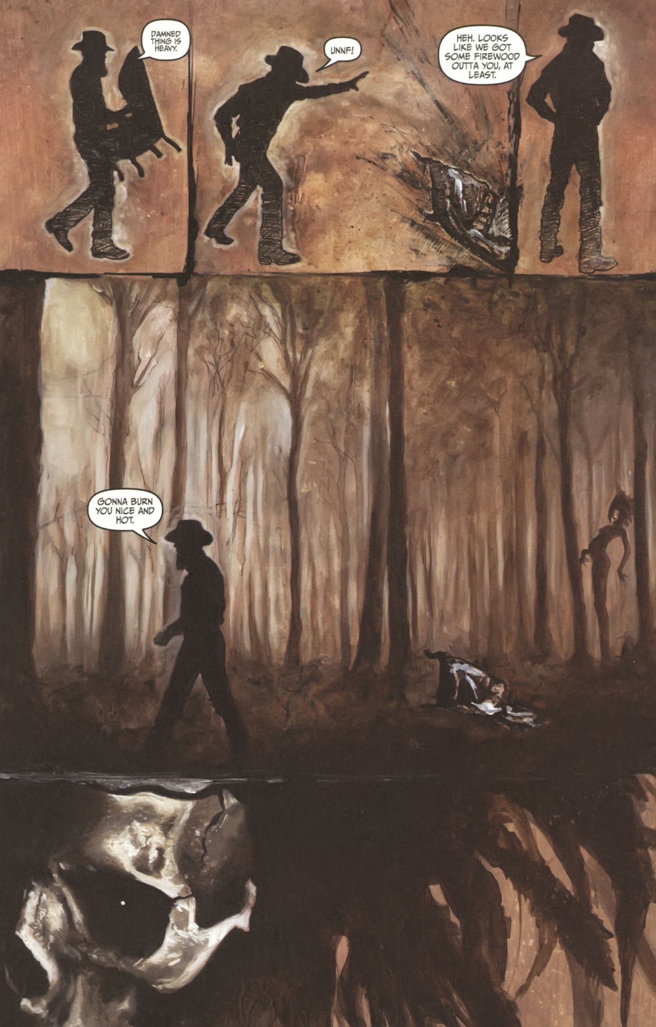 Read online Silent Hill: Past Life comic -  Issue #1 - 16
