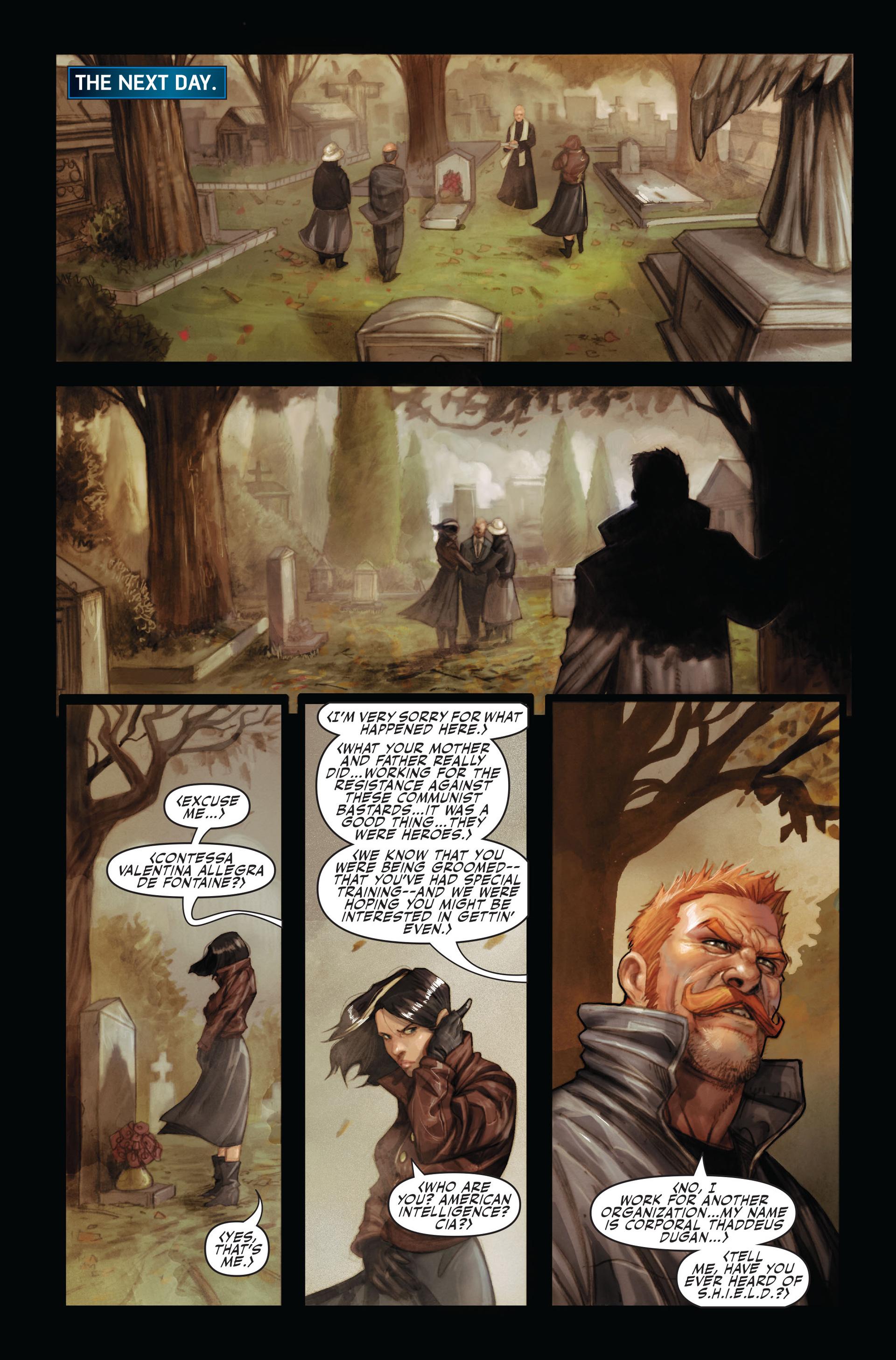 Read online Secret Warriors comic -  Issue #14 - 14