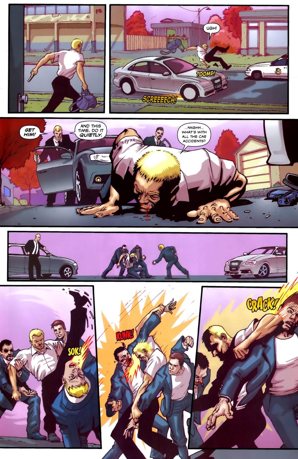 Read online Lazarus (2007) comic -  Issue #2 - 15