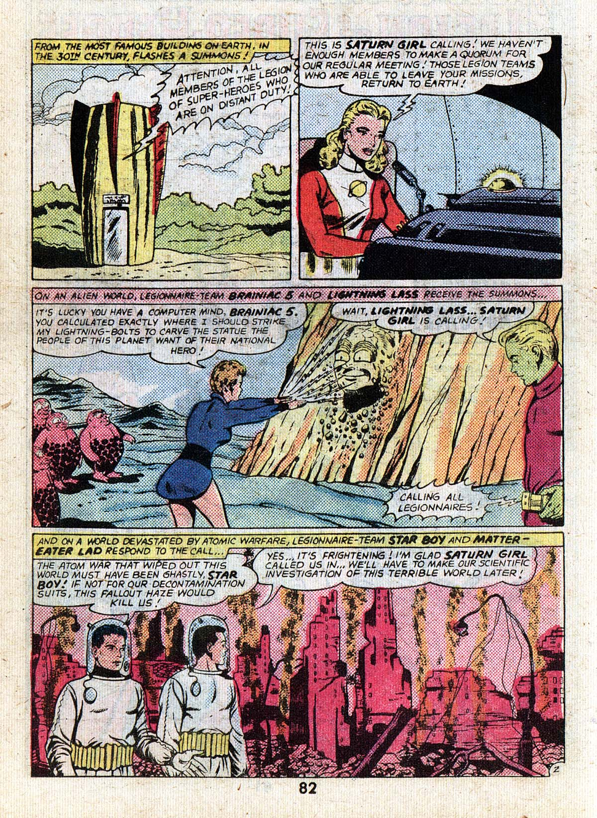 Read online Adventure Comics (1938) comic -  Issue #502 - 82