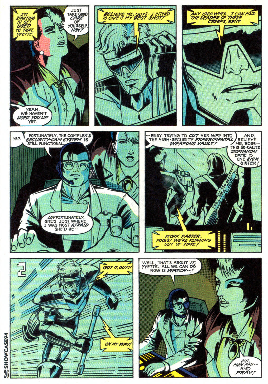 Read online Showcase '94 comic -  Issue #2 - 22