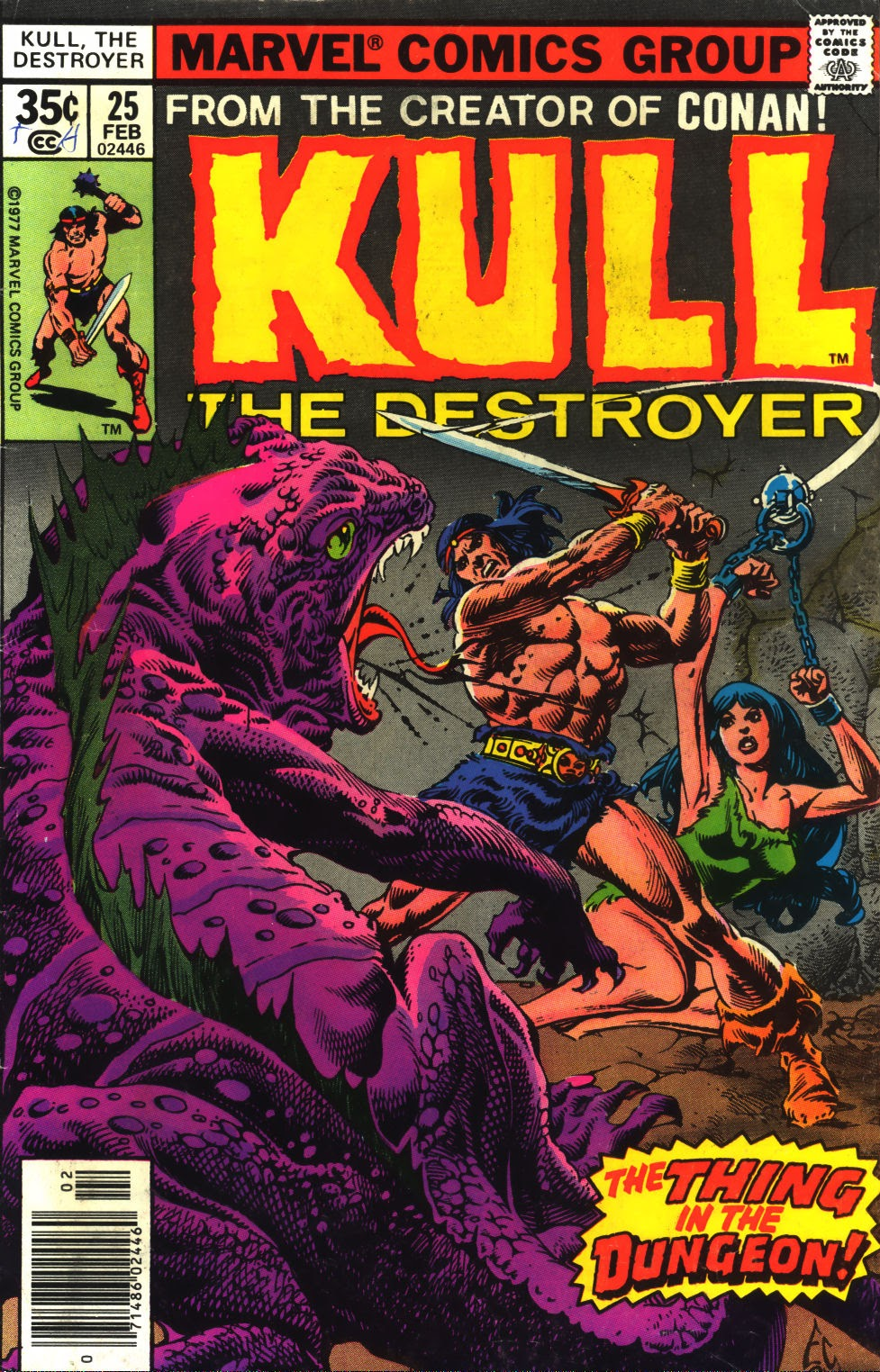 Kull The Destroyer issue 25 - Page 1
