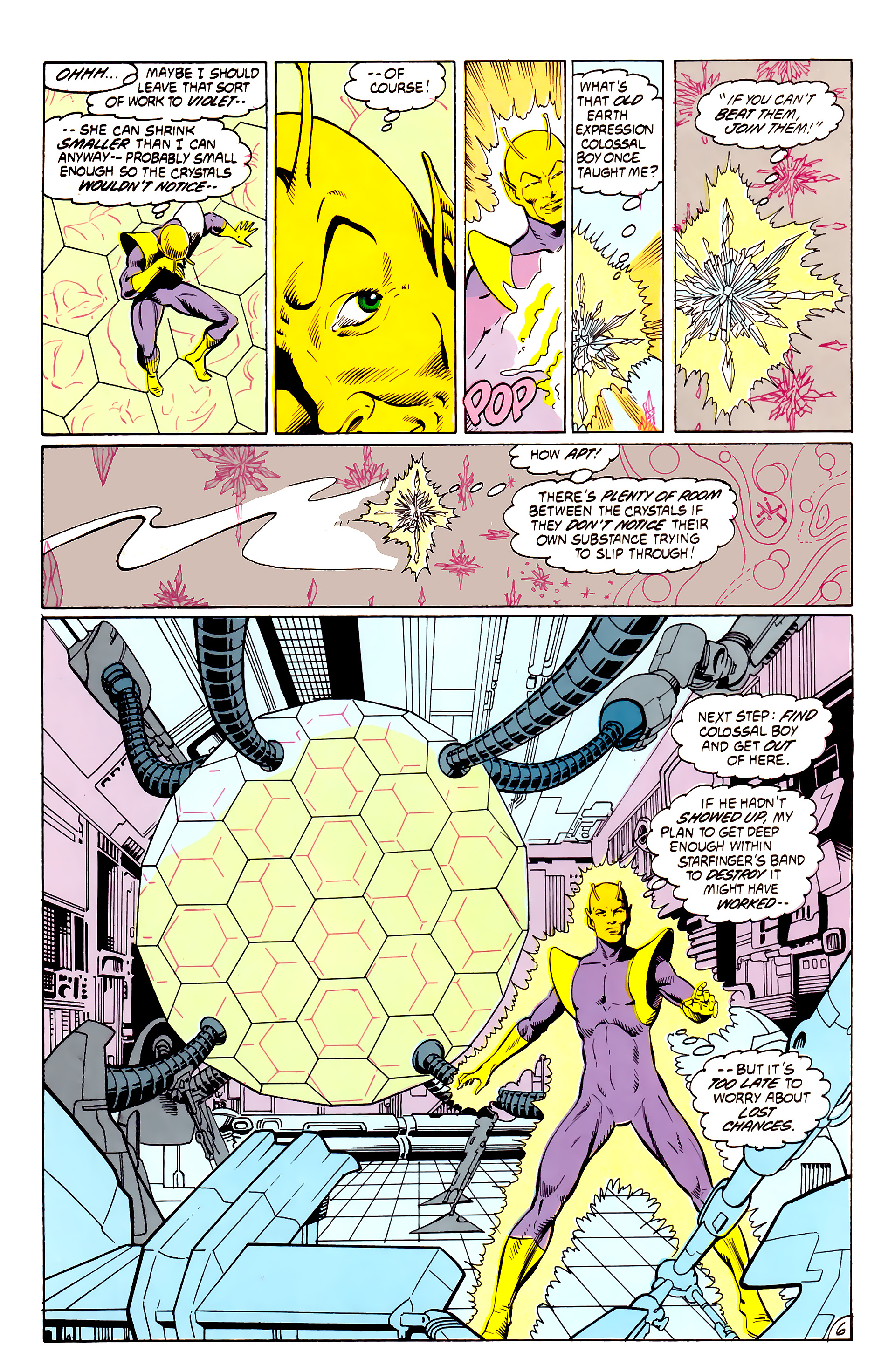 Legion of Super-Heroes (1984) _Annual_4 Page 6