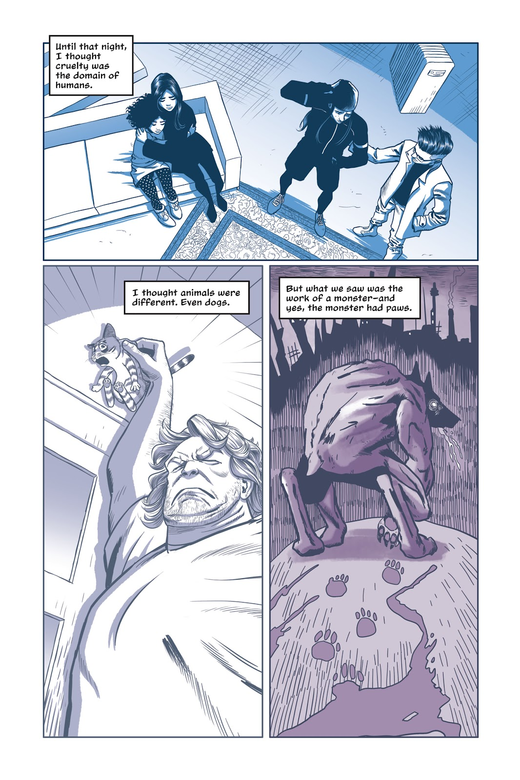 Read online Under the Moon: A Catwoman Tale comic -  Issue # TPB (Part 2) - 33