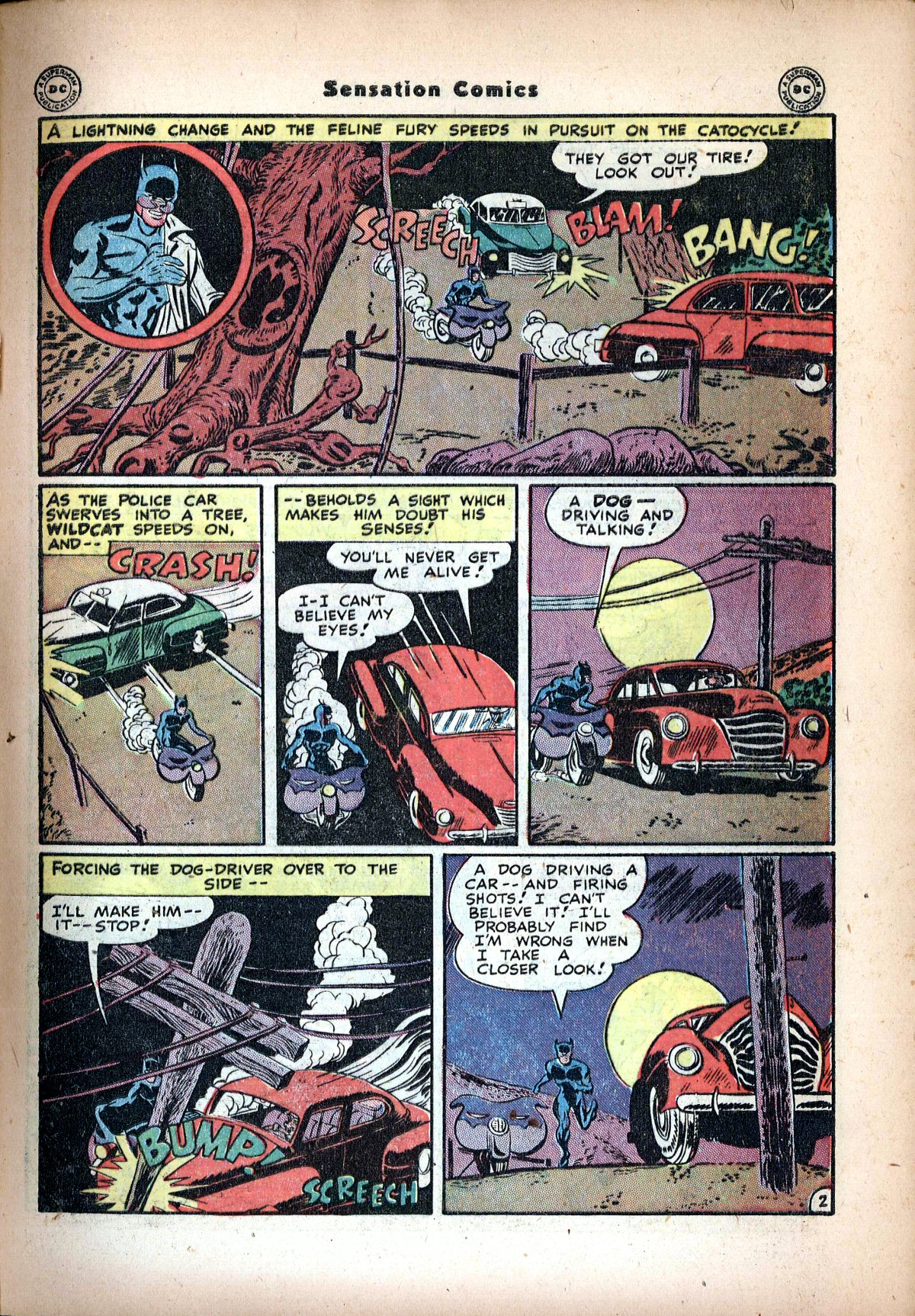 Read online Sensation (Mystery) Comics comic -  Issue #72 - 43