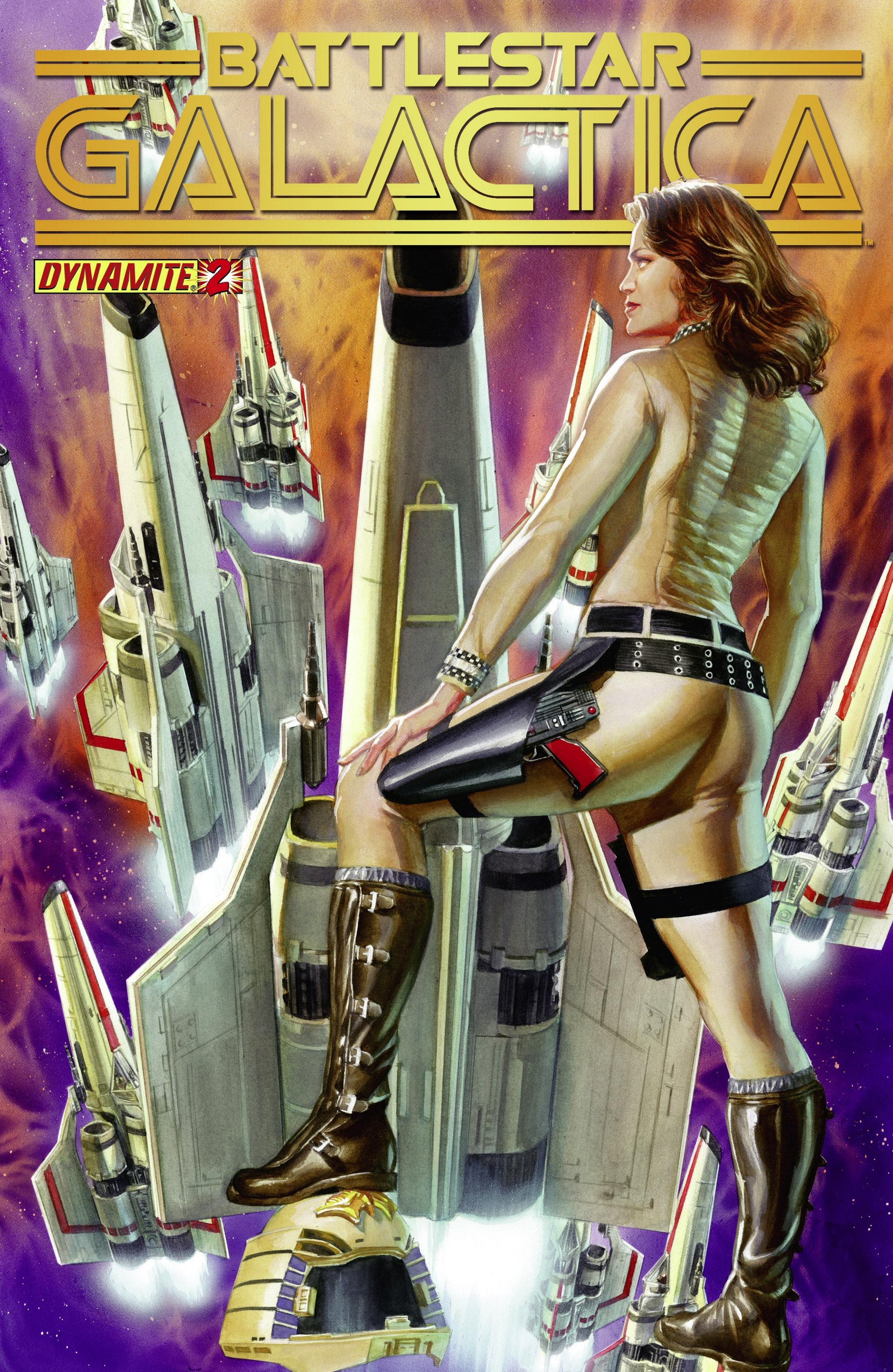 Classic Battlestar Galactica (2013) 2 Page 1