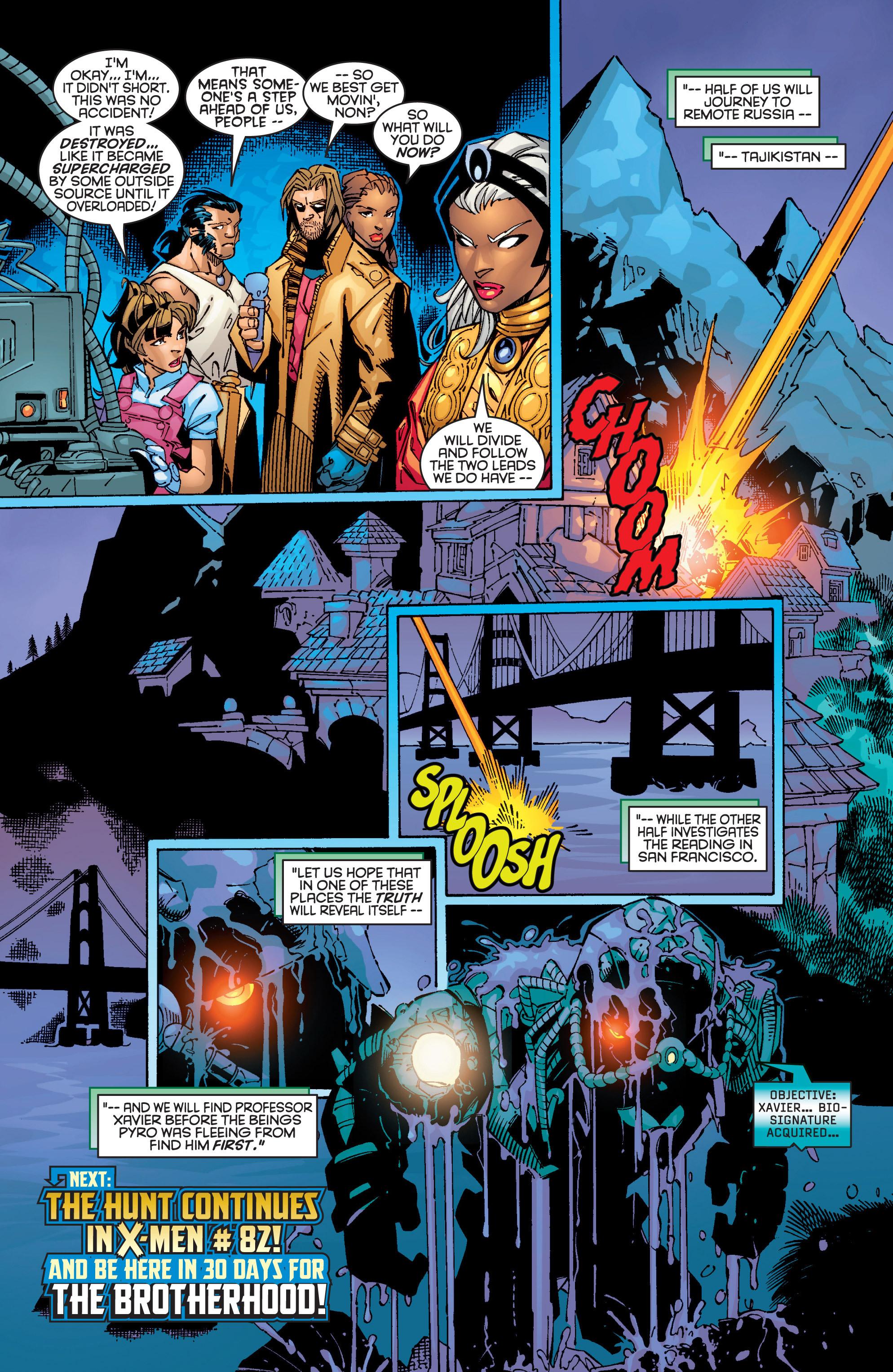 Read online Uncanny X-Men (1963) comic -  Issue #362 - 22