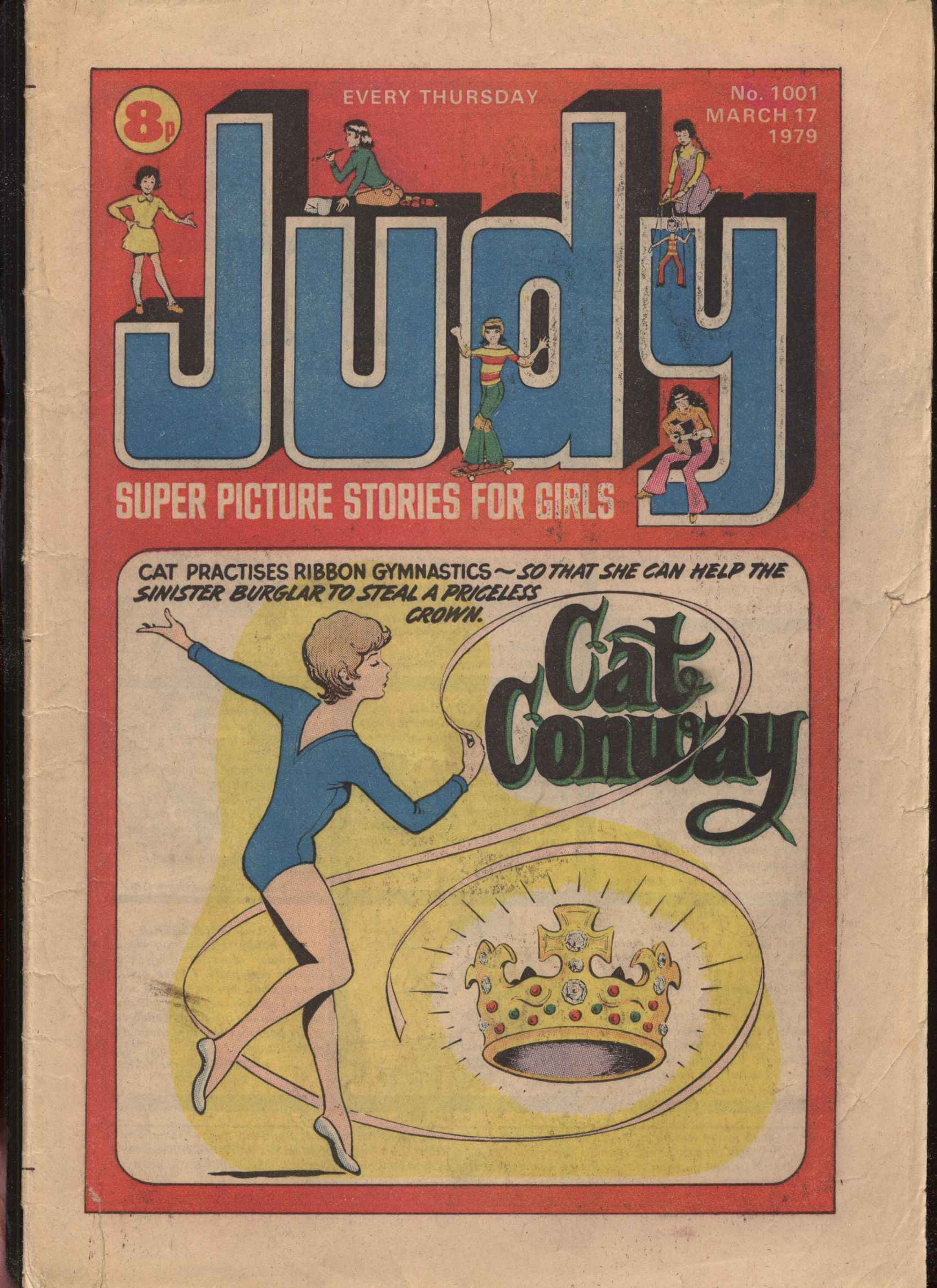 Read online Judy comic -  Issue #1 - 1