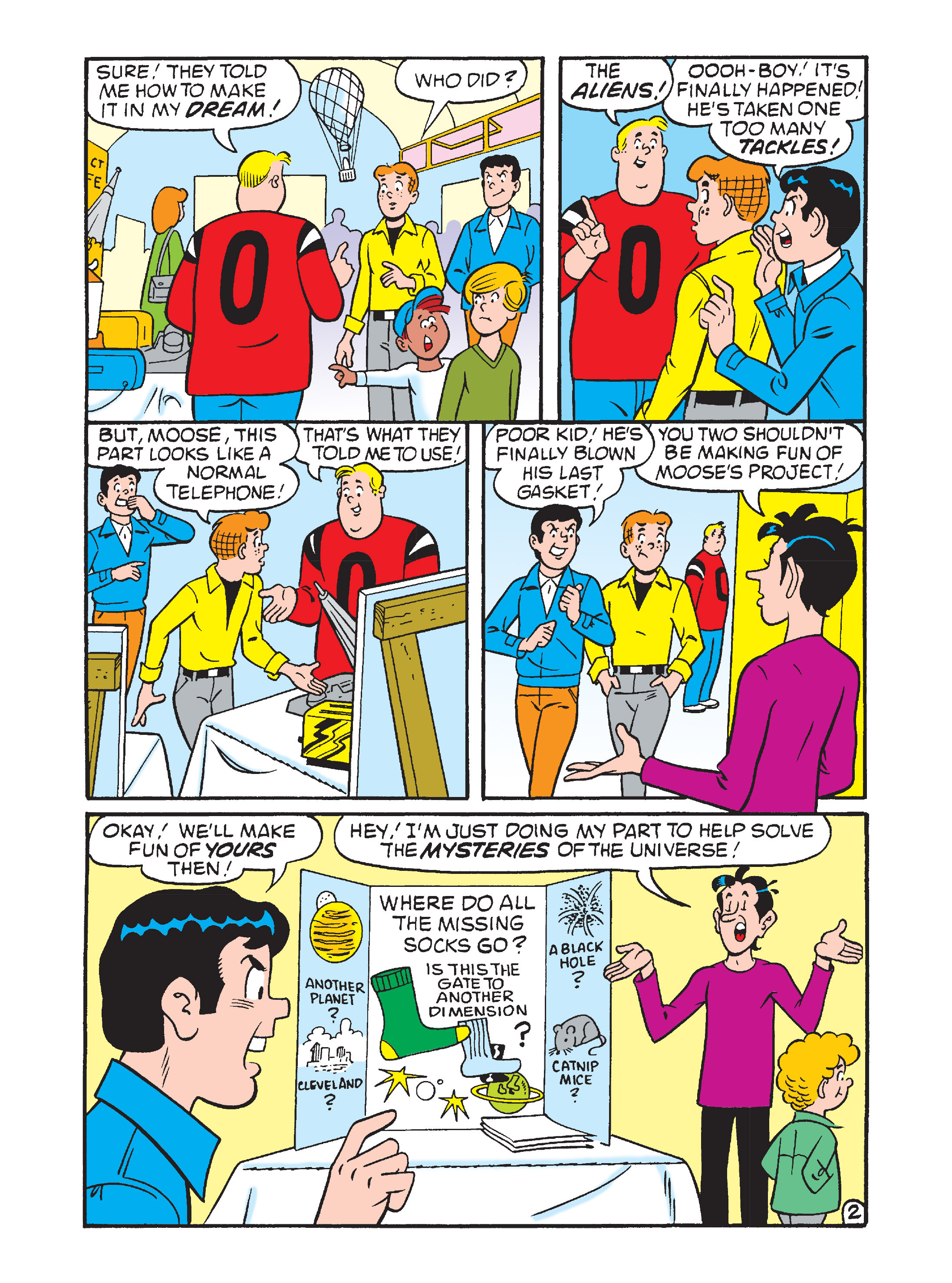 Read online Archie's Funhouse Double Digest comic -  Issue #12 - 63