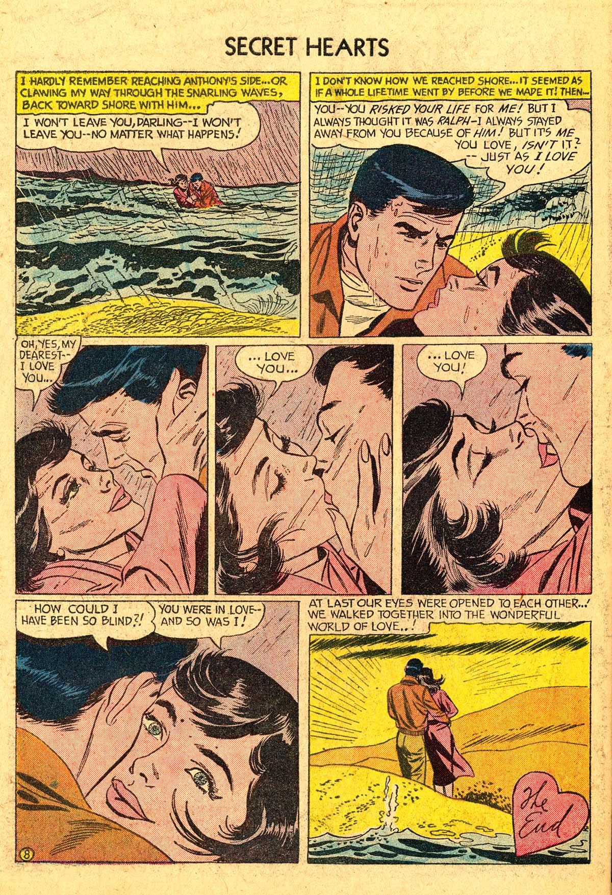 Read online Secret Hearts comic -  Issue #40 - 34