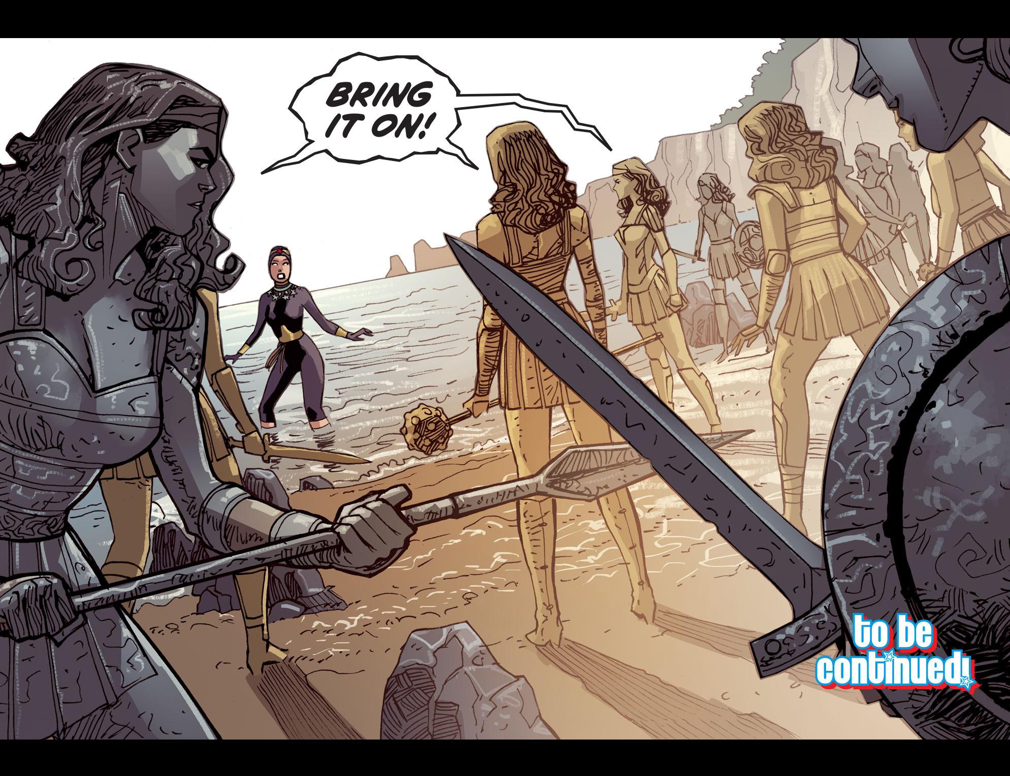 Read online Wonder Woman '77 [I] comic -  Issue #14 - 22