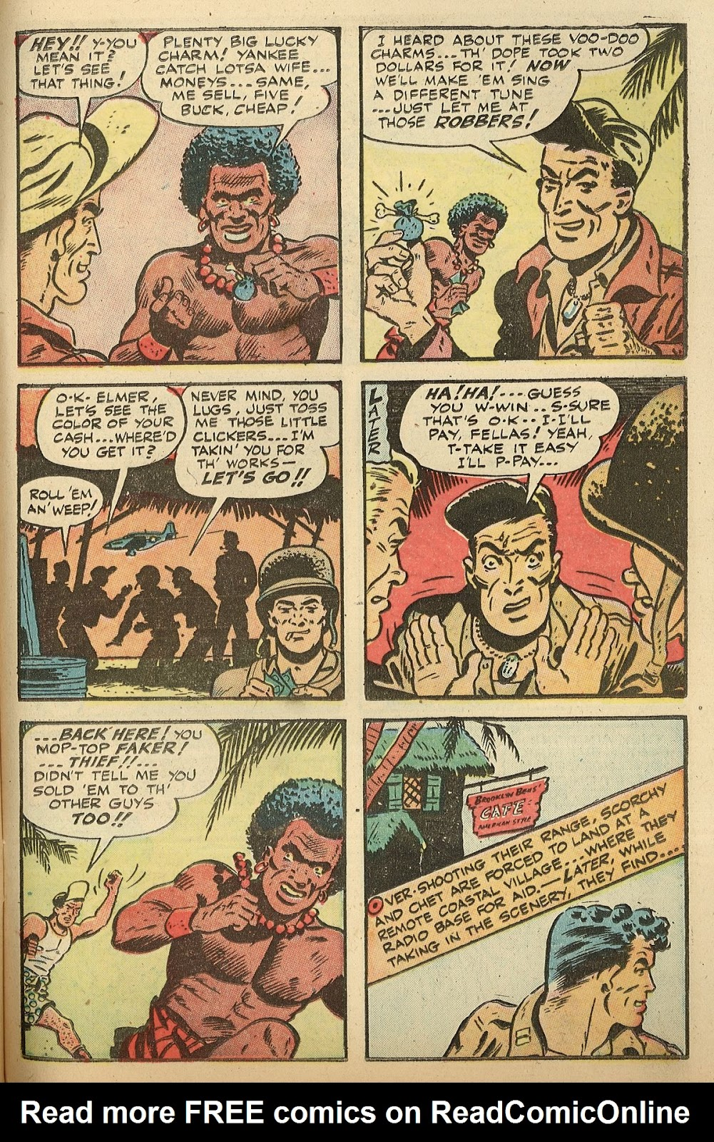 Read online Famous Funnies comic -  Issue #148 - 37