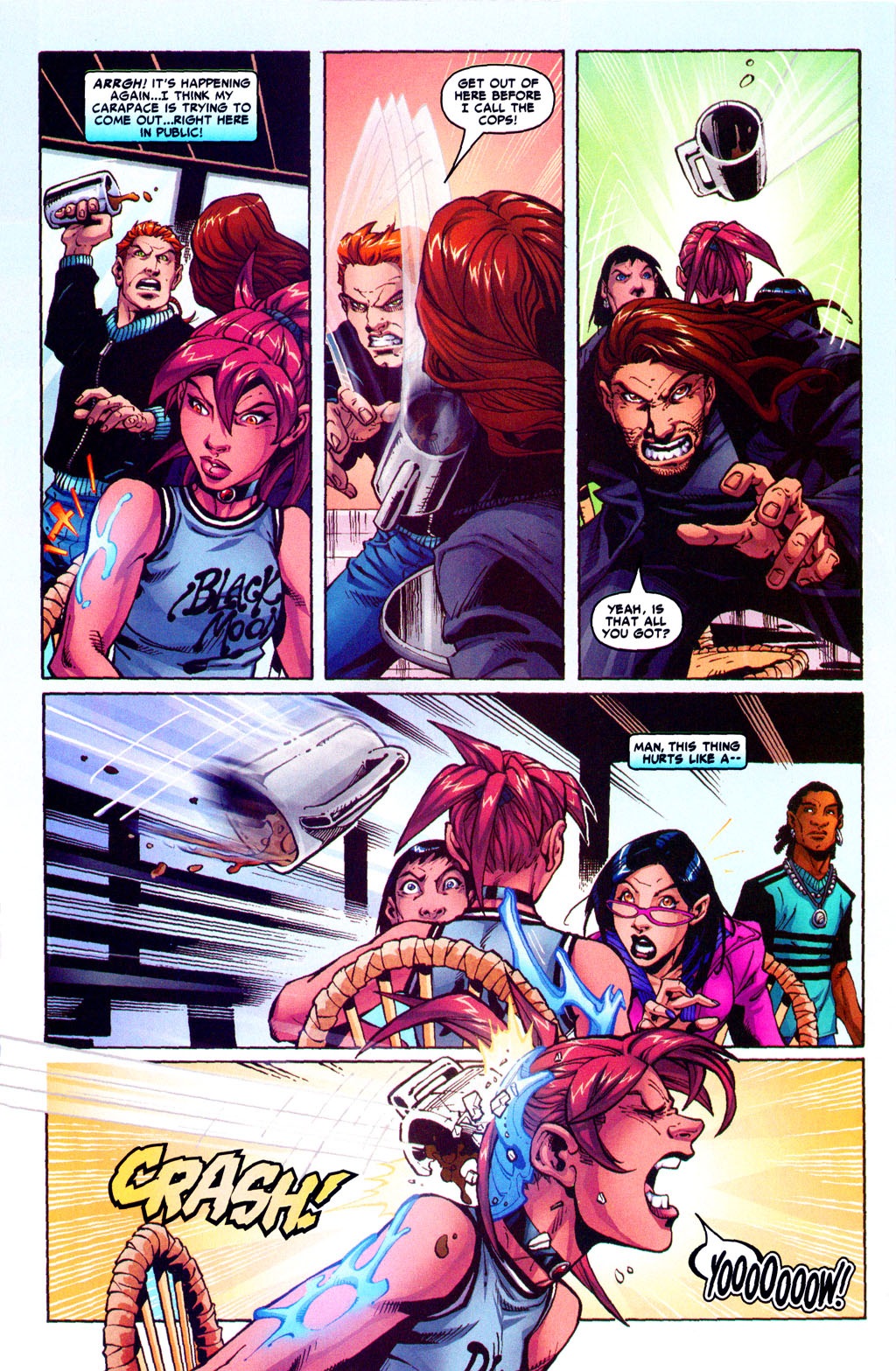 Read online Araña: Heart of the Spider comic -  Issue #5 - 19