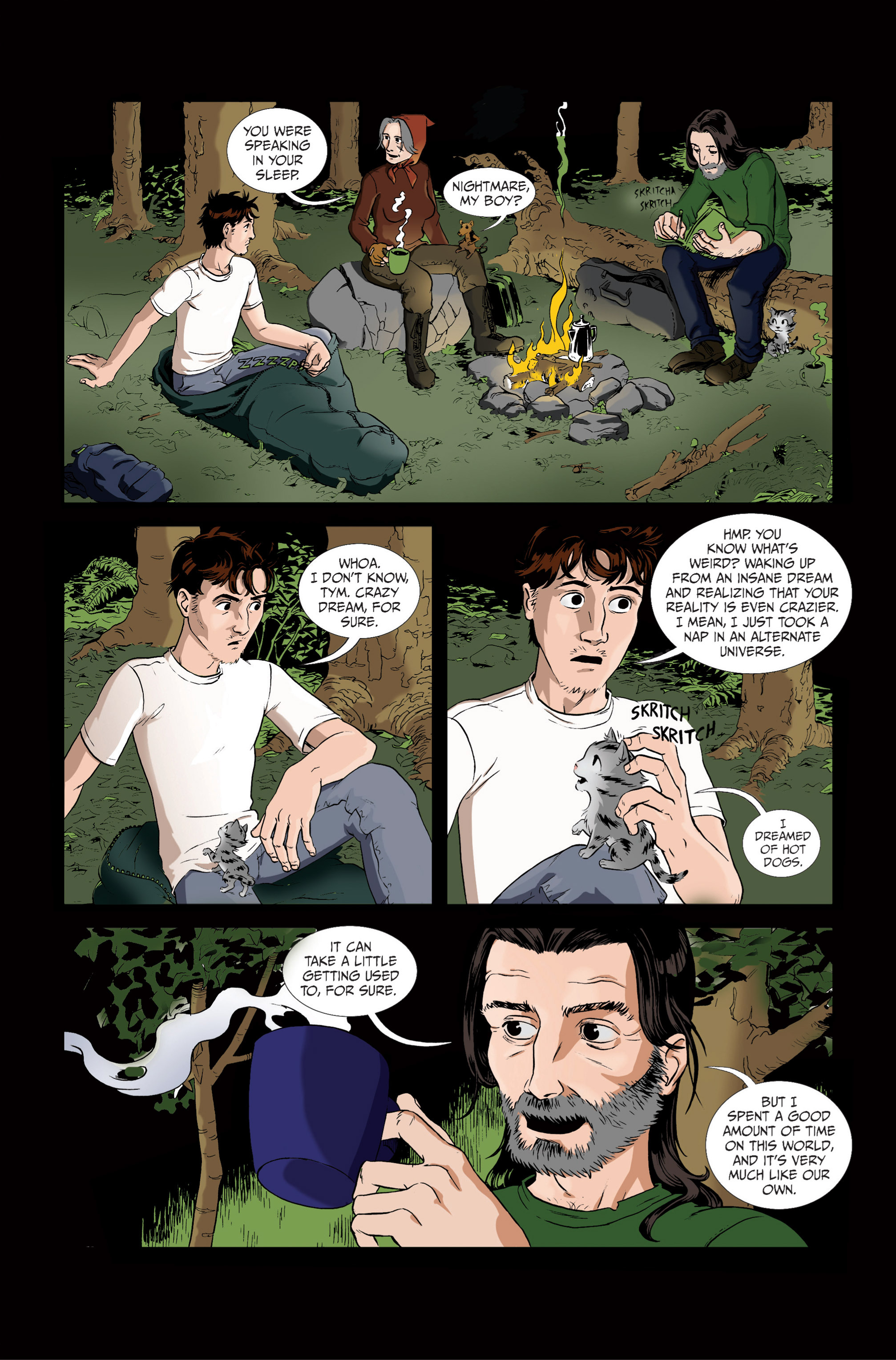 Read online Ehmm Theory: Everything & Small Doses comic -  Issue #1 - 14