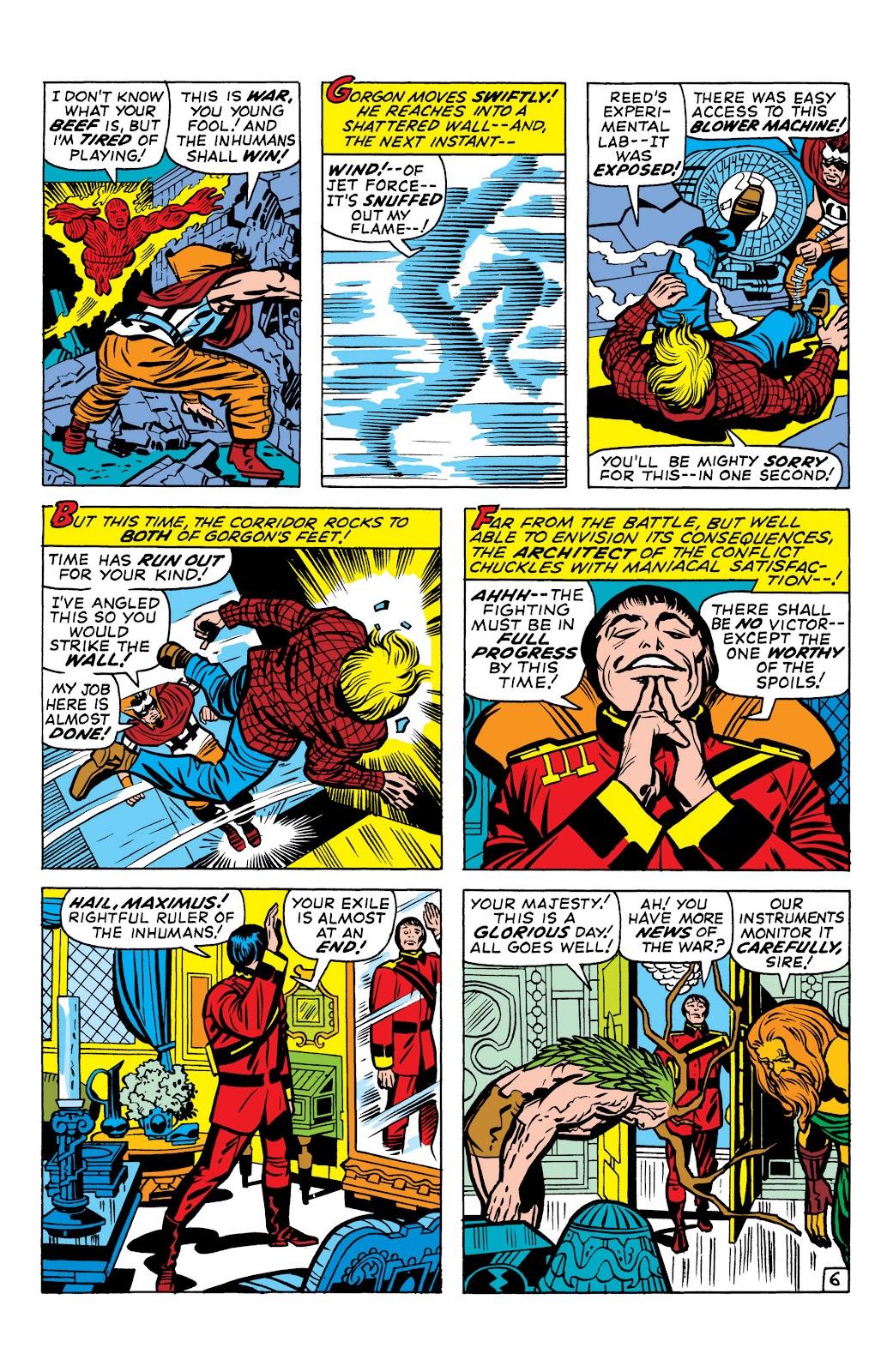 Read online Marvel Masterworks: The Inhumans comic -  Issue # TPB 1 (Part 1) - 86
