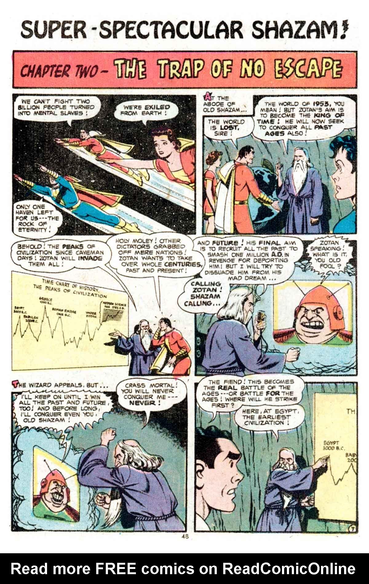 Read online Shazam! (1973) comic -  Issue #15 - 48