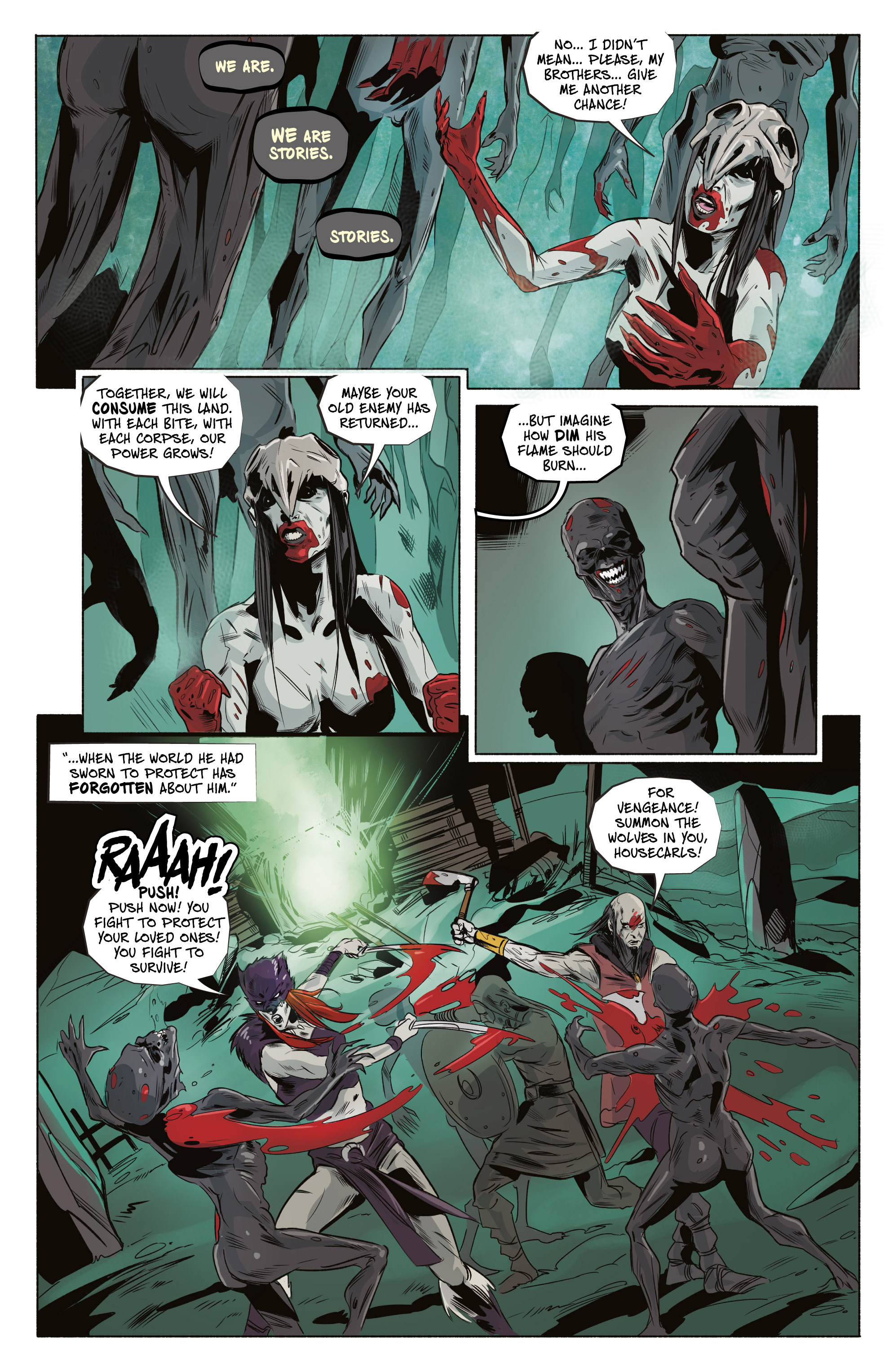 Read online Ghost Wolf comic -  Issue #4 - 18