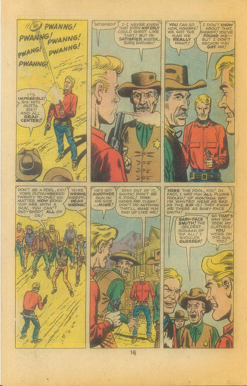 Kid Colt Outlaw issue 197 - Page 18