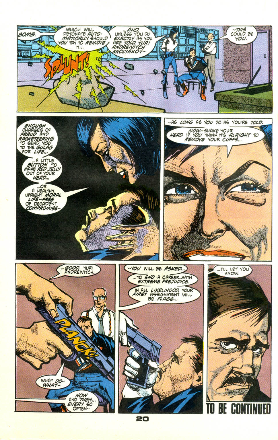 Read online American Flagg! comic -  Issue #24 - 22