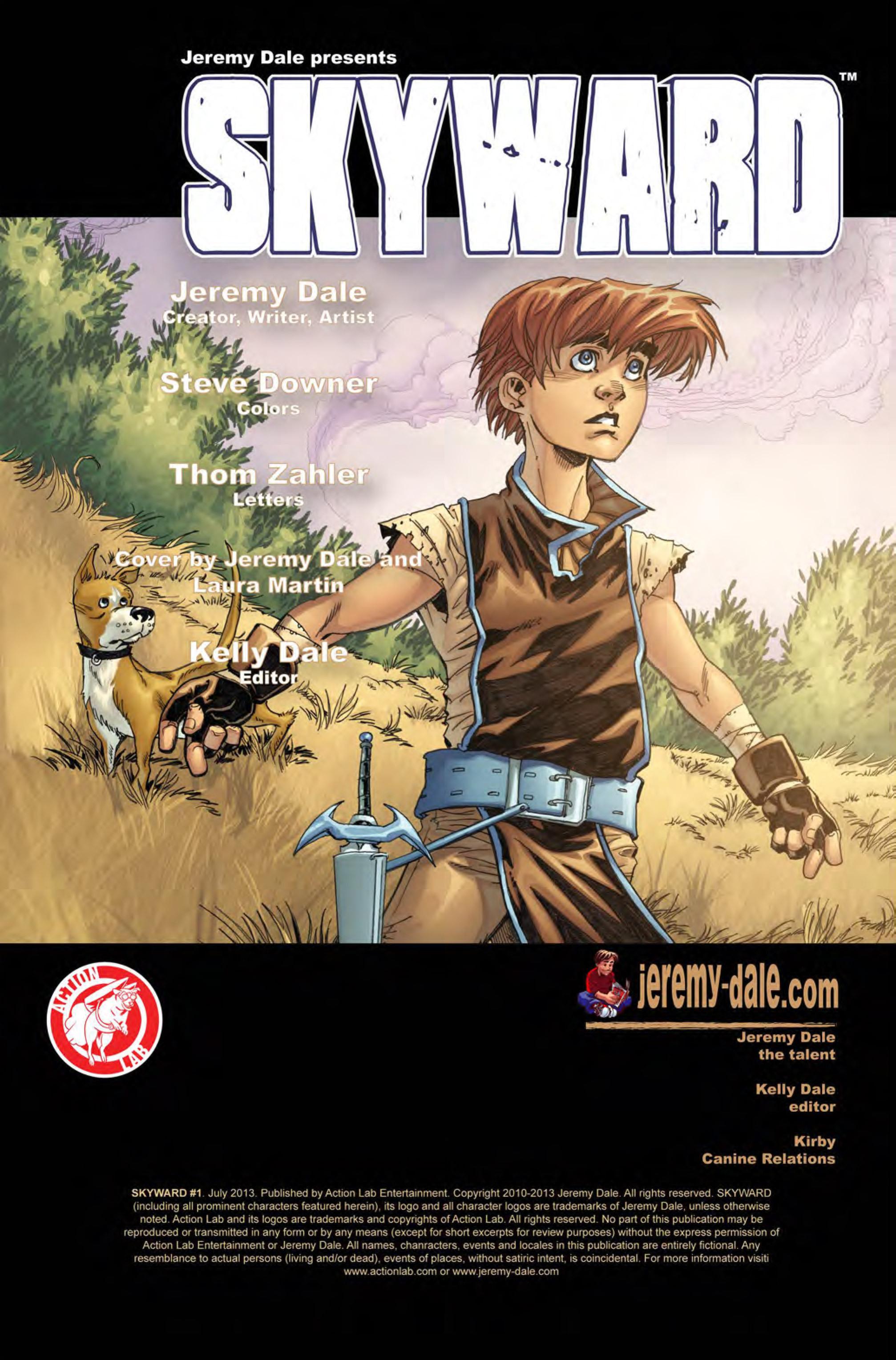 Read online Skyward comic -  Issue #1 - 2
