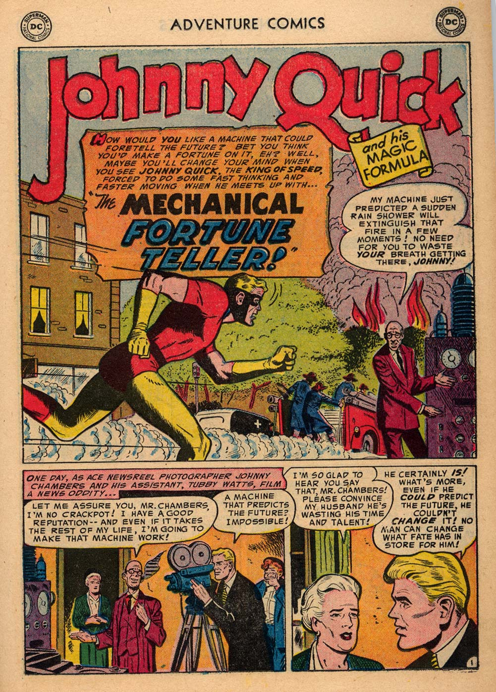 Read online Adventure Comics (1938) comic -  Issue #198 - 25