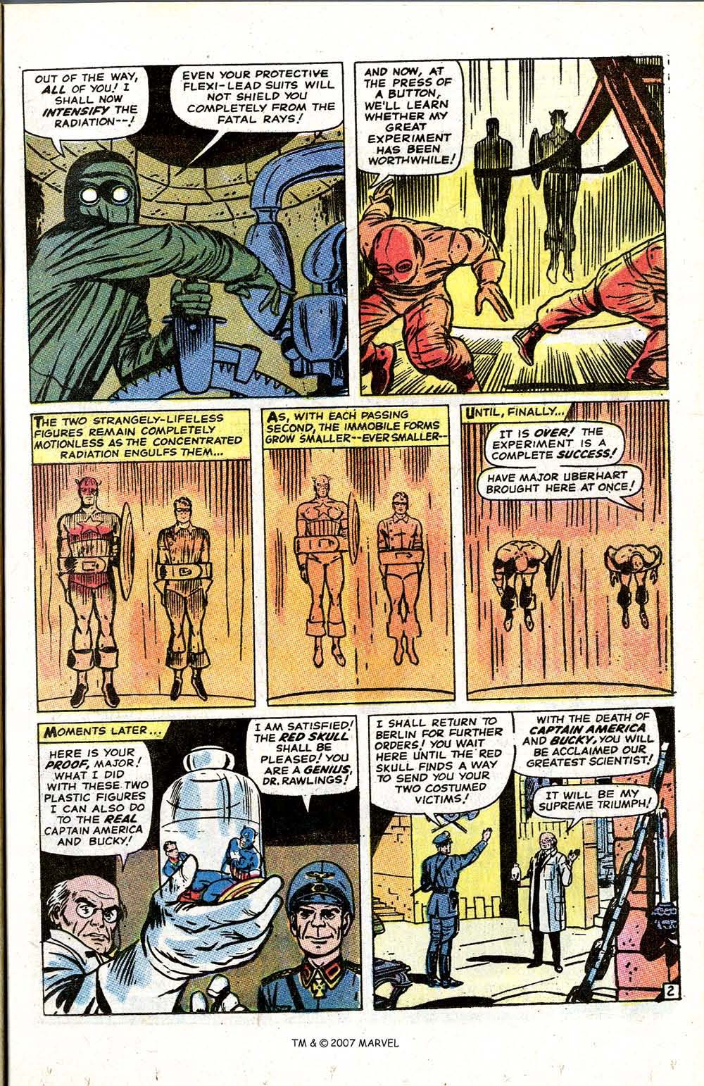 Read online Captain America (1968) comic -  Issue # _Annual 1 - 17