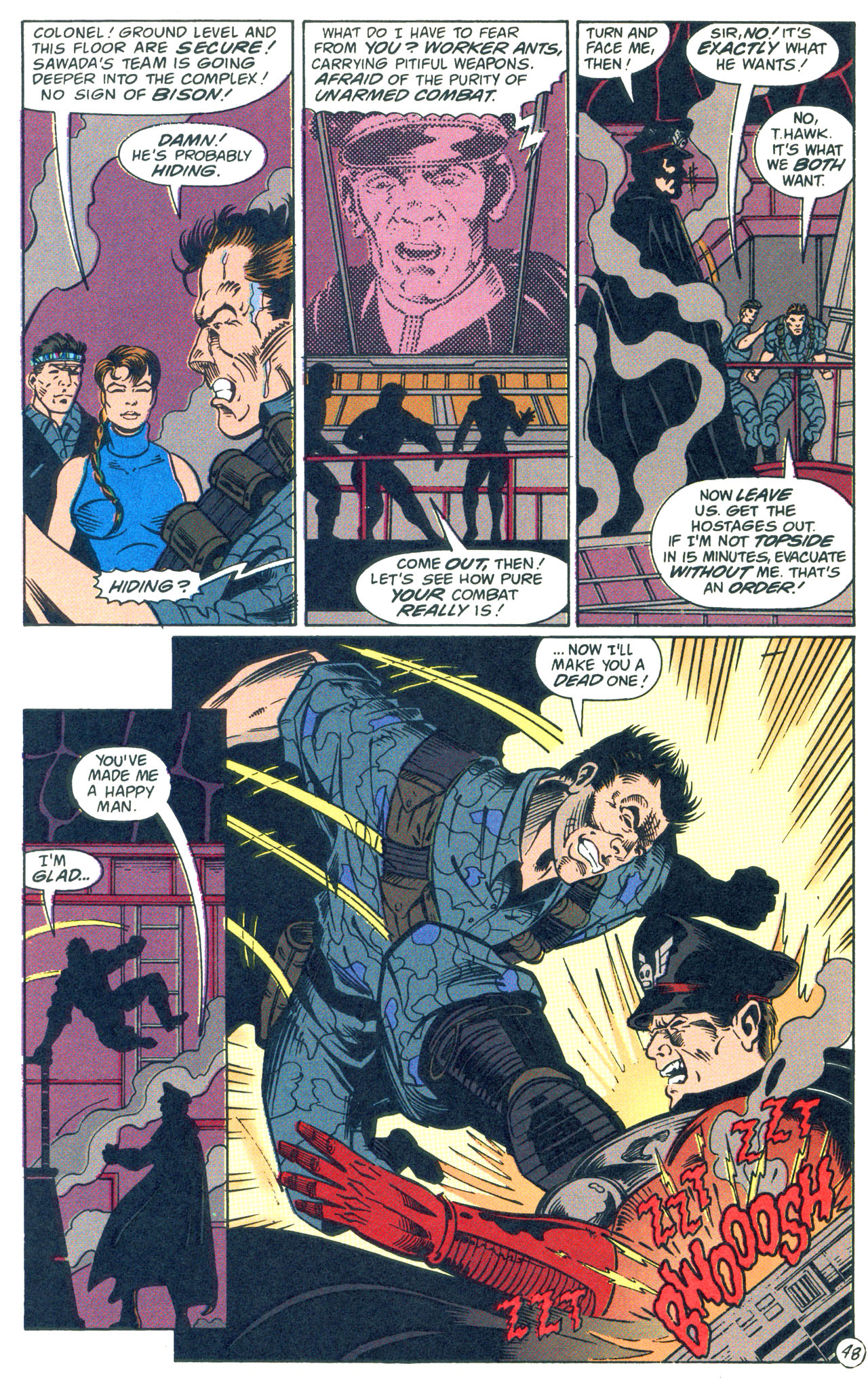 Read online Street Fighter: The Battle For Shadaloo comic -  Issue # Full - 49