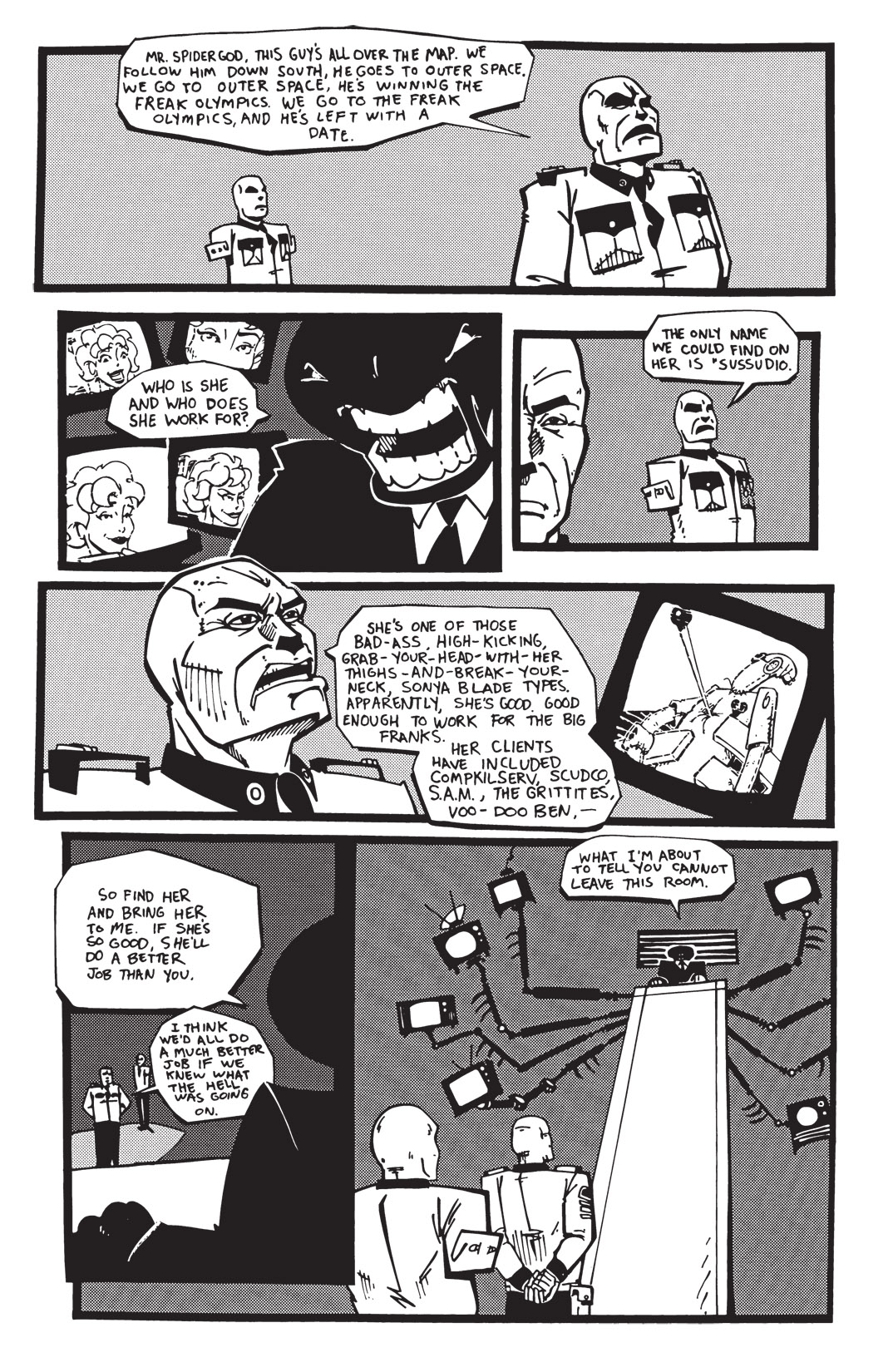 Read online Scud: The Disposable Assassin: The Whole Shebang comic -  Issue # TPB (Part 2) - 147